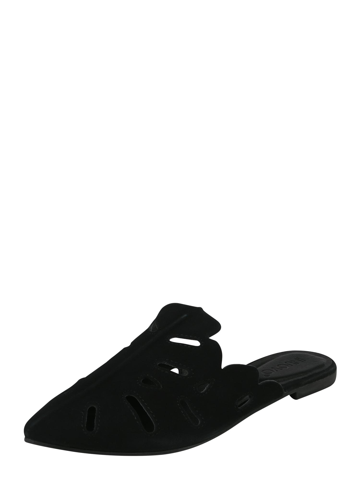 Páskové sandály černá INUOVO