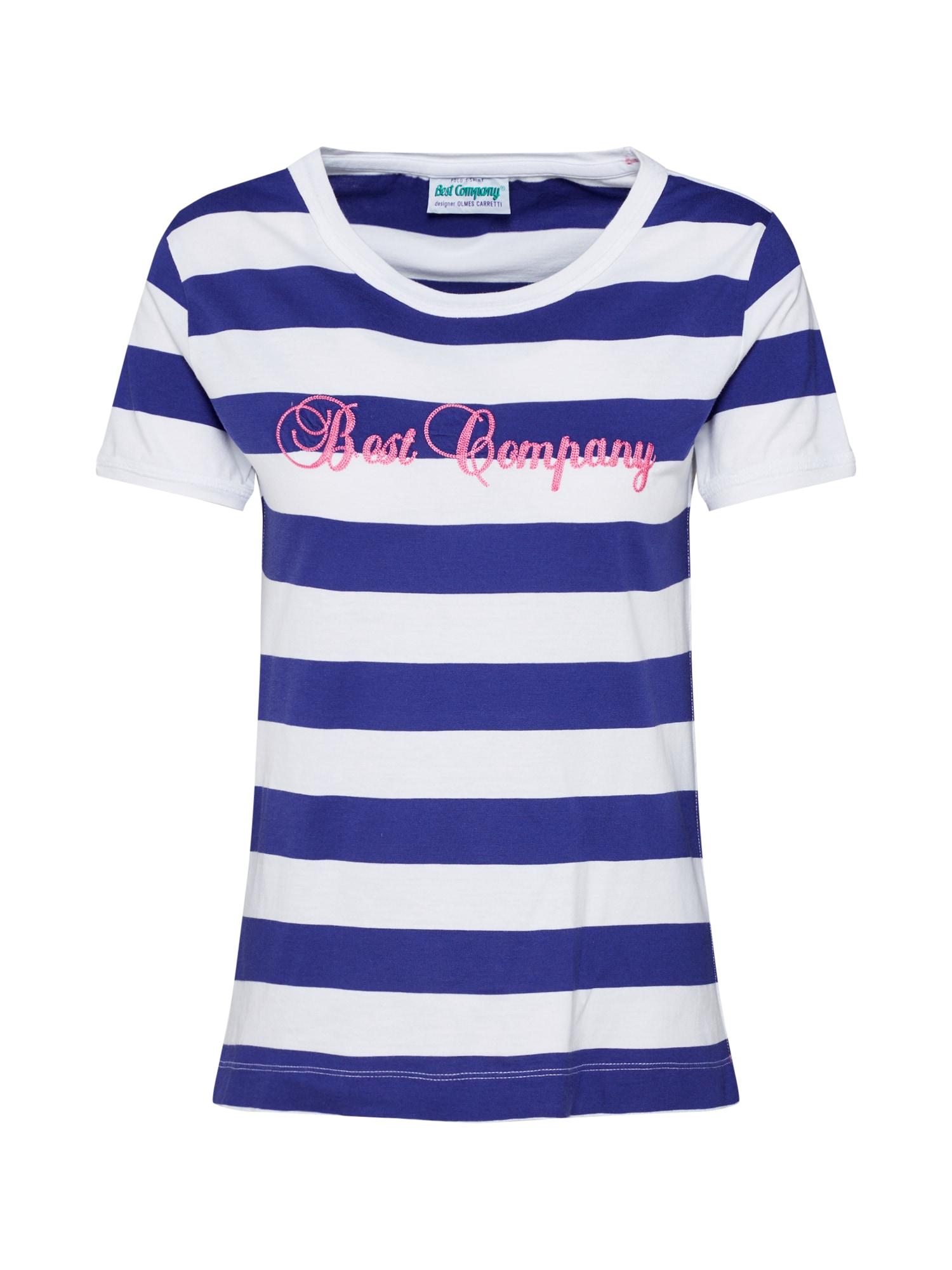 Tričko námořnická modř Best Company