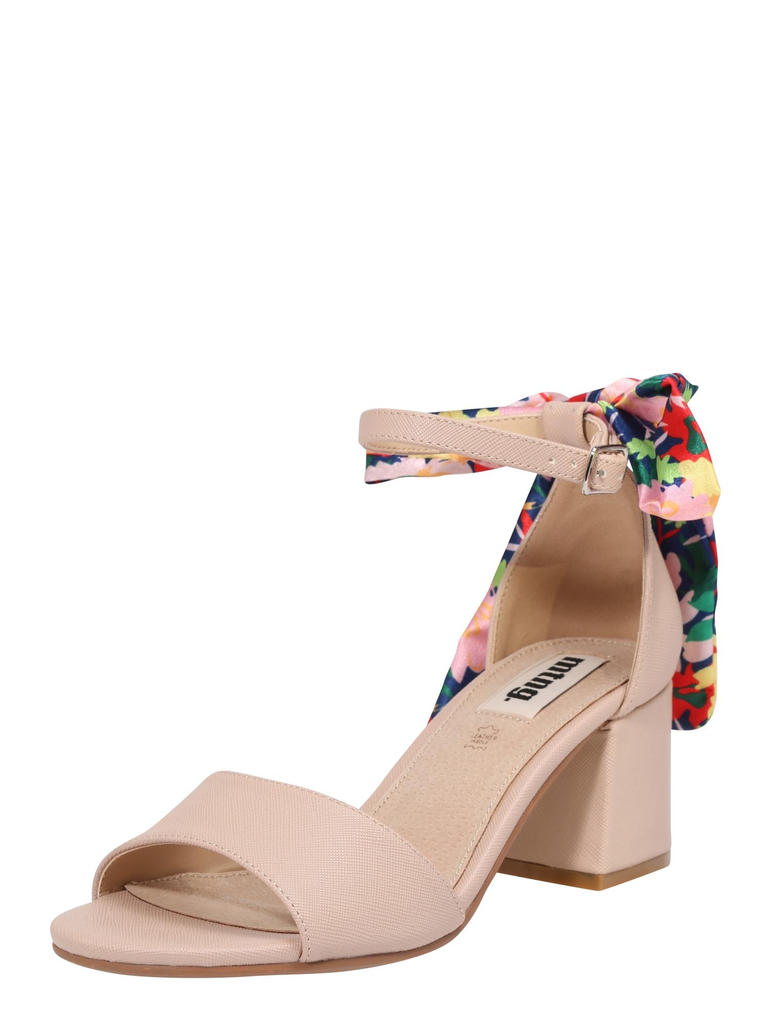 Páskové sandály KAILY tělová MTNG