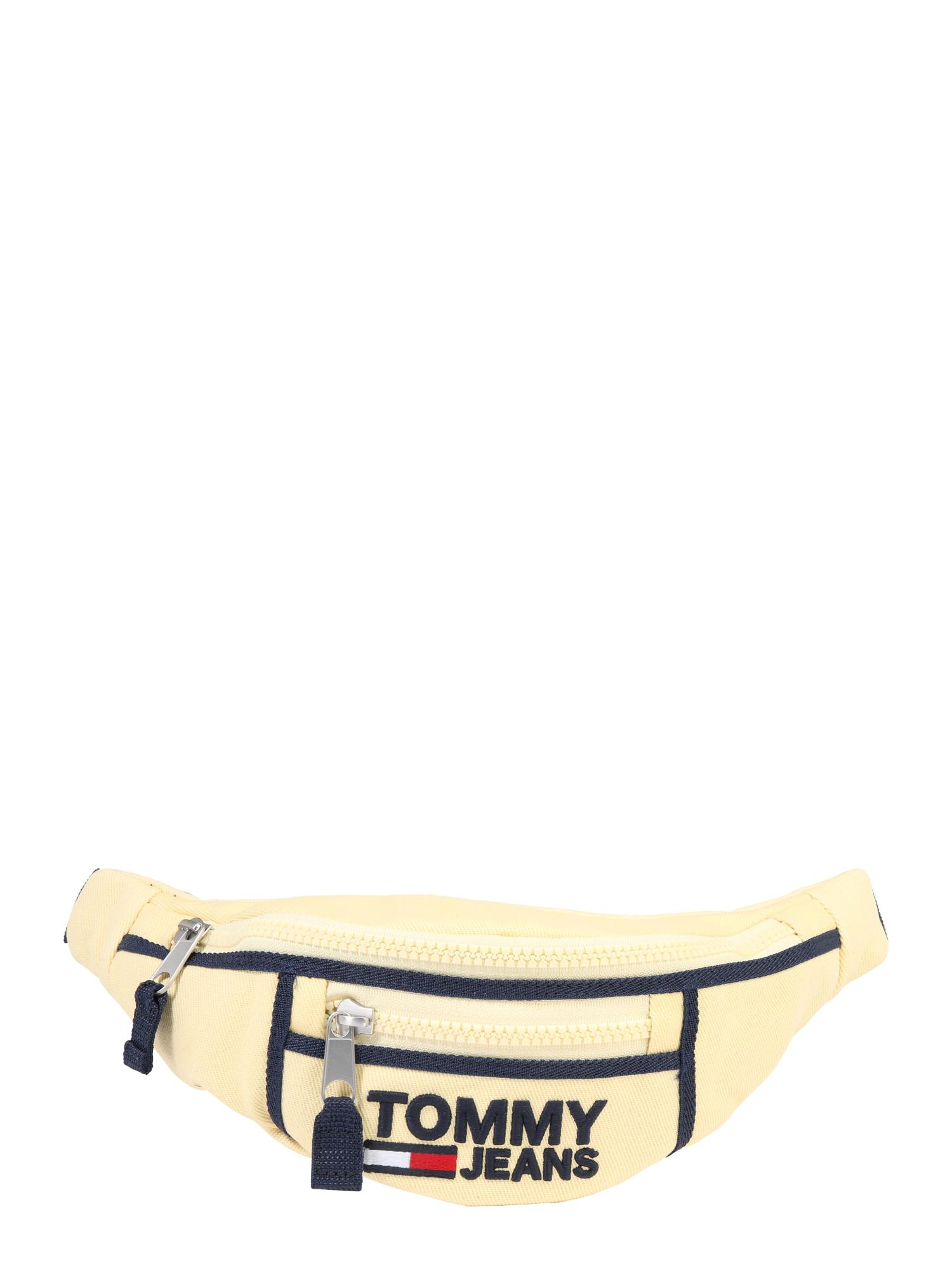 Ledvinka Heritage Bumbag světle žlutá černá Tommy Jeans
