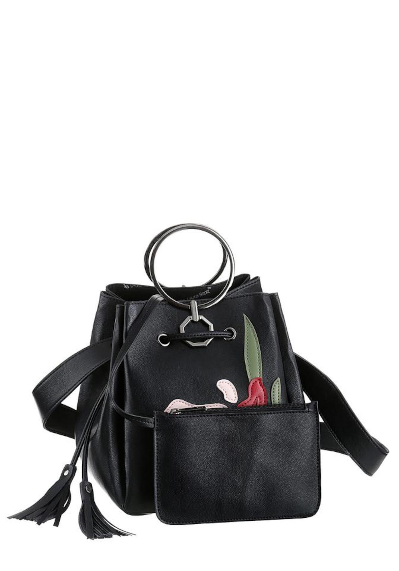 Beuteltasche | Taschen > Handtaschen > Beuteltaschen | Schwarz | laura scott