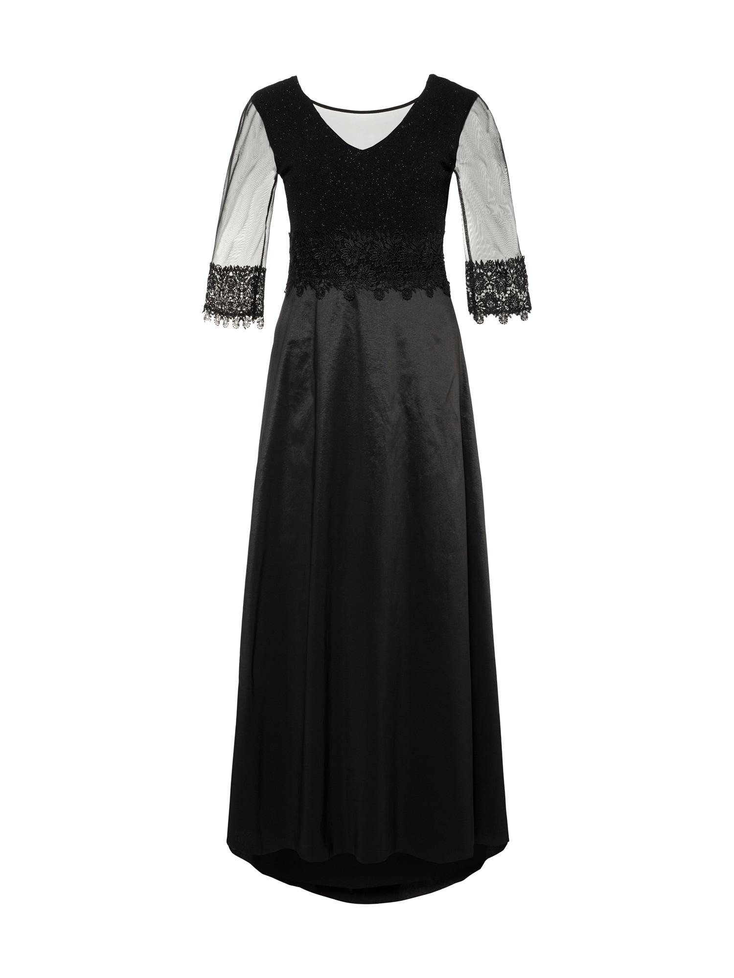 Společenské šaty černá Ulla Popken