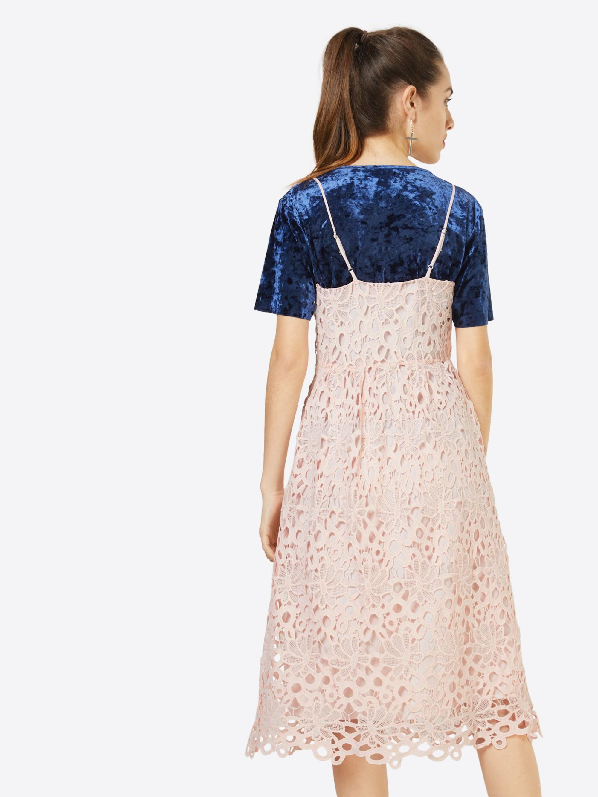VILA Sukienka koktajlowa 'VIDALTON DRESS/1'  różowy pudrowy