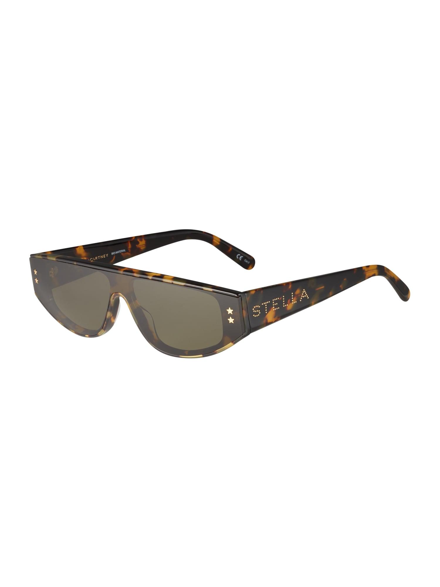 Stella McCartney Sluneční brýle  zelená / černá