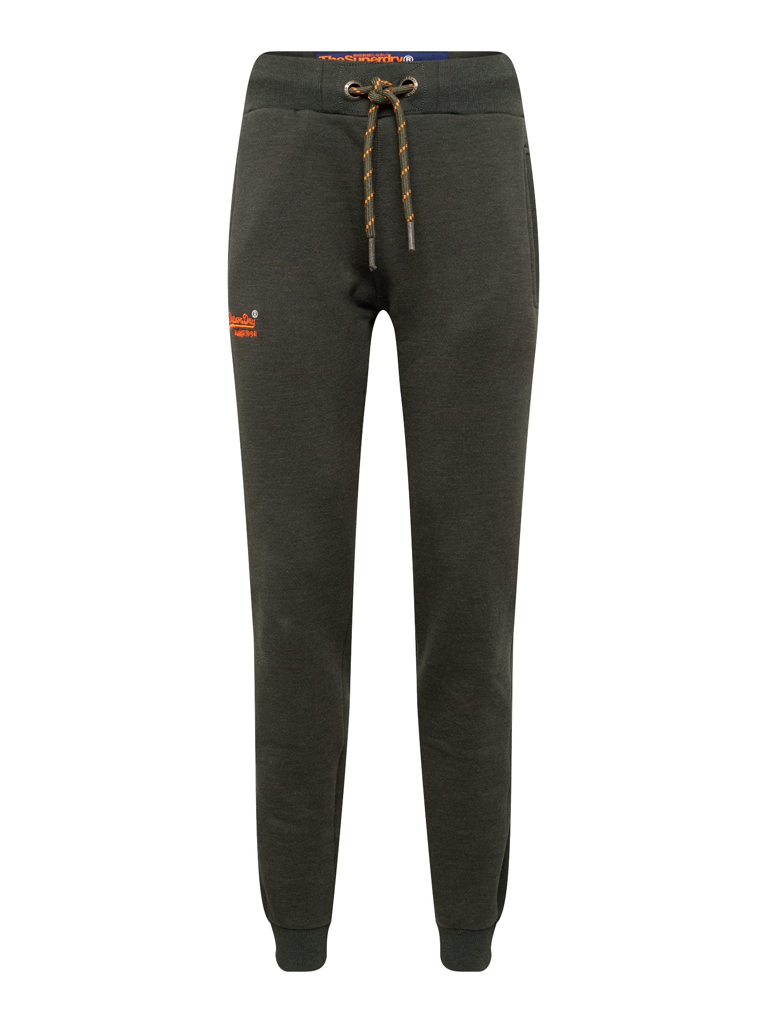 Kalhoty ORANGE LABEL CUFFED JOGGER antracitová Superdry