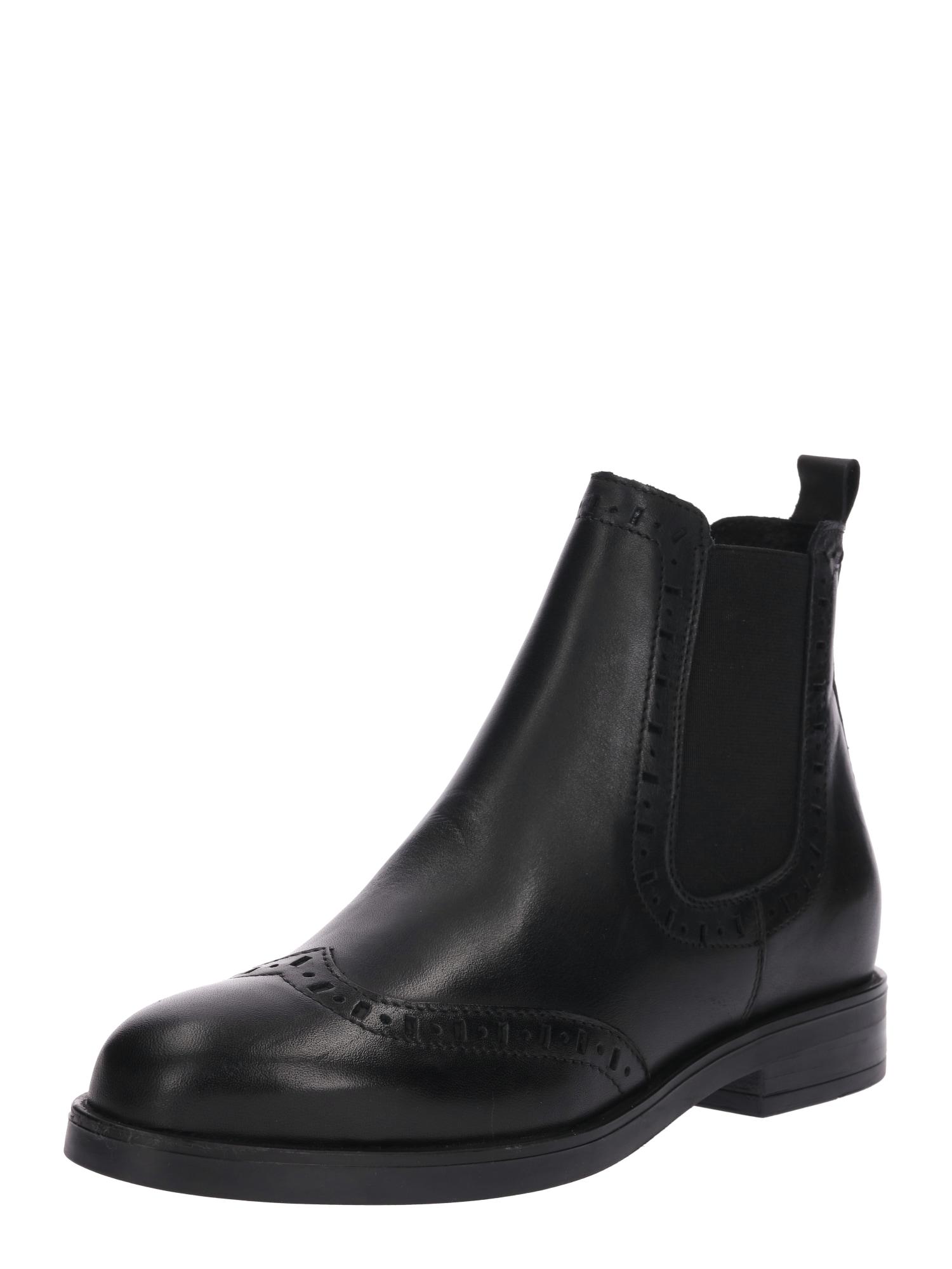 Chelsea boty 16034-V1030R černá Zign