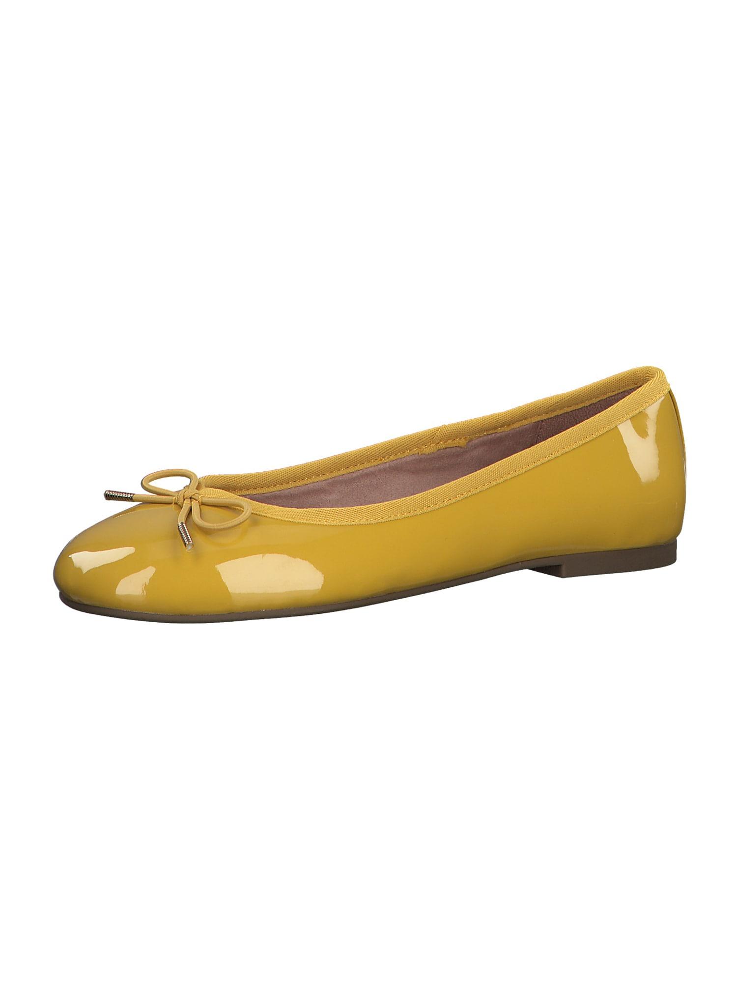 TAMARIS Baleríny  žlutá
