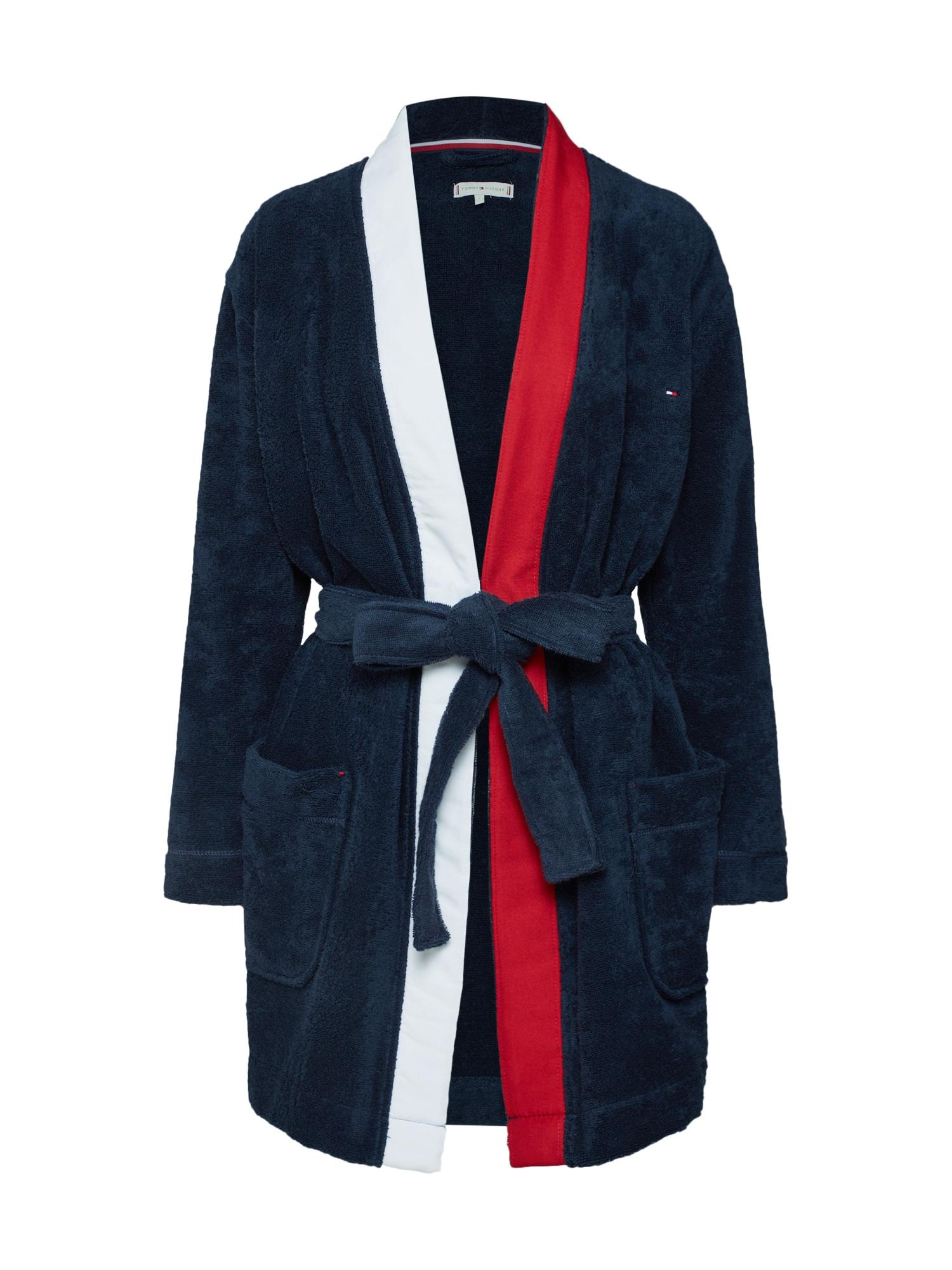 Krátký župan  námořnická modř Tommy Hilfiger Underwear