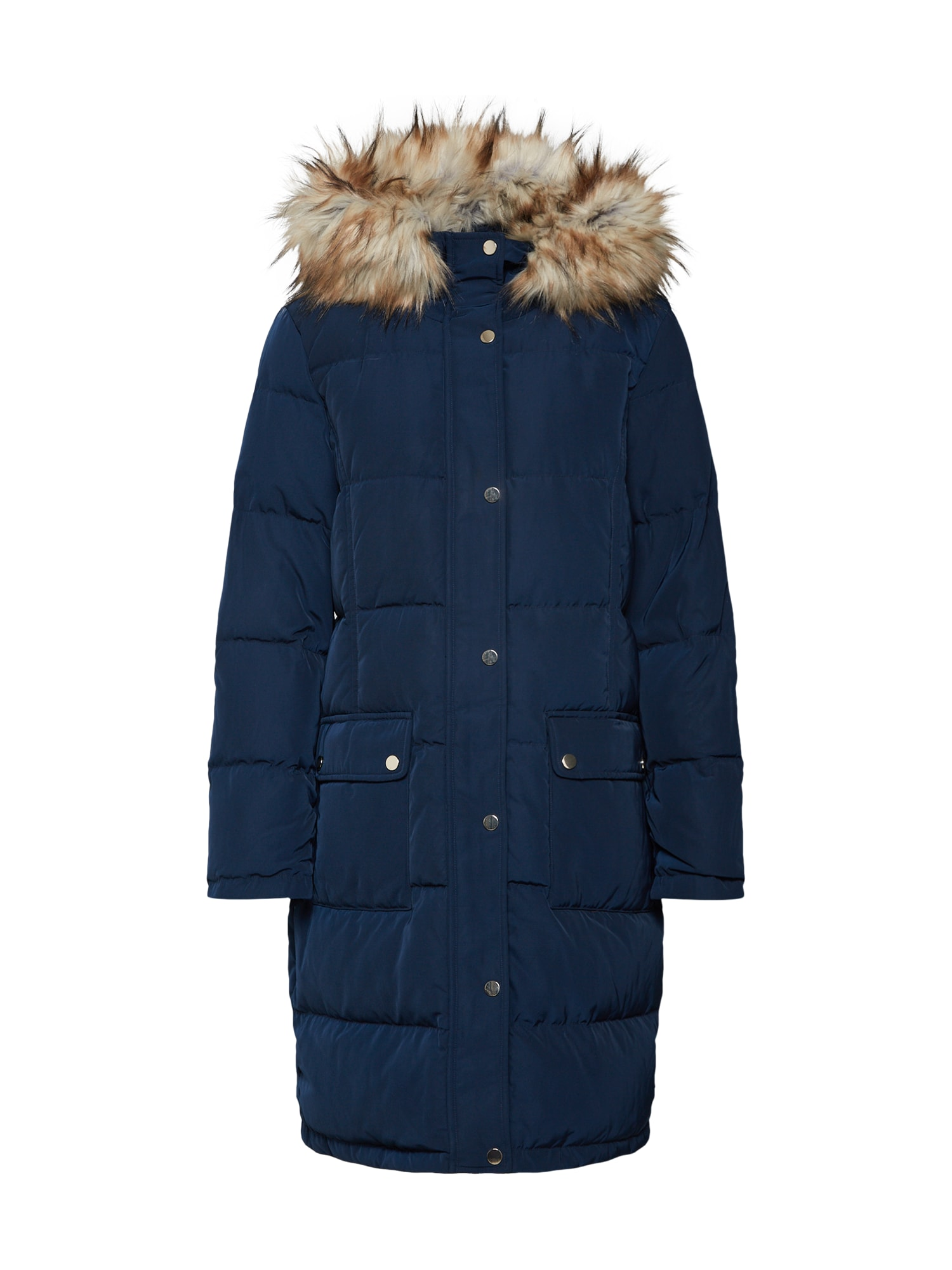 Zimní kabát Vicalifornia noční modrá VILA