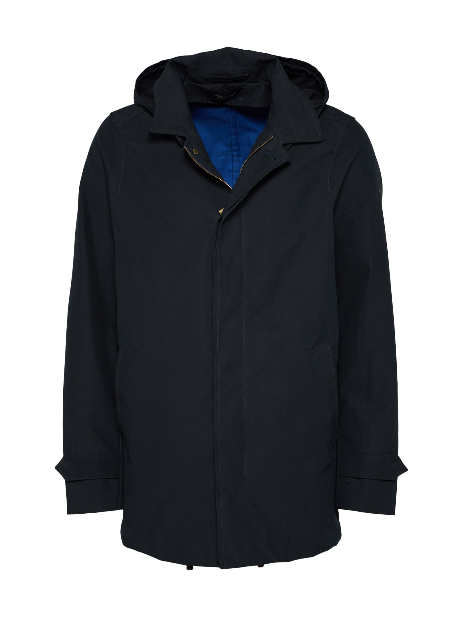 SCOTCH  and  SODA Heren Tussenparka Classic hooded parka donkerblauw