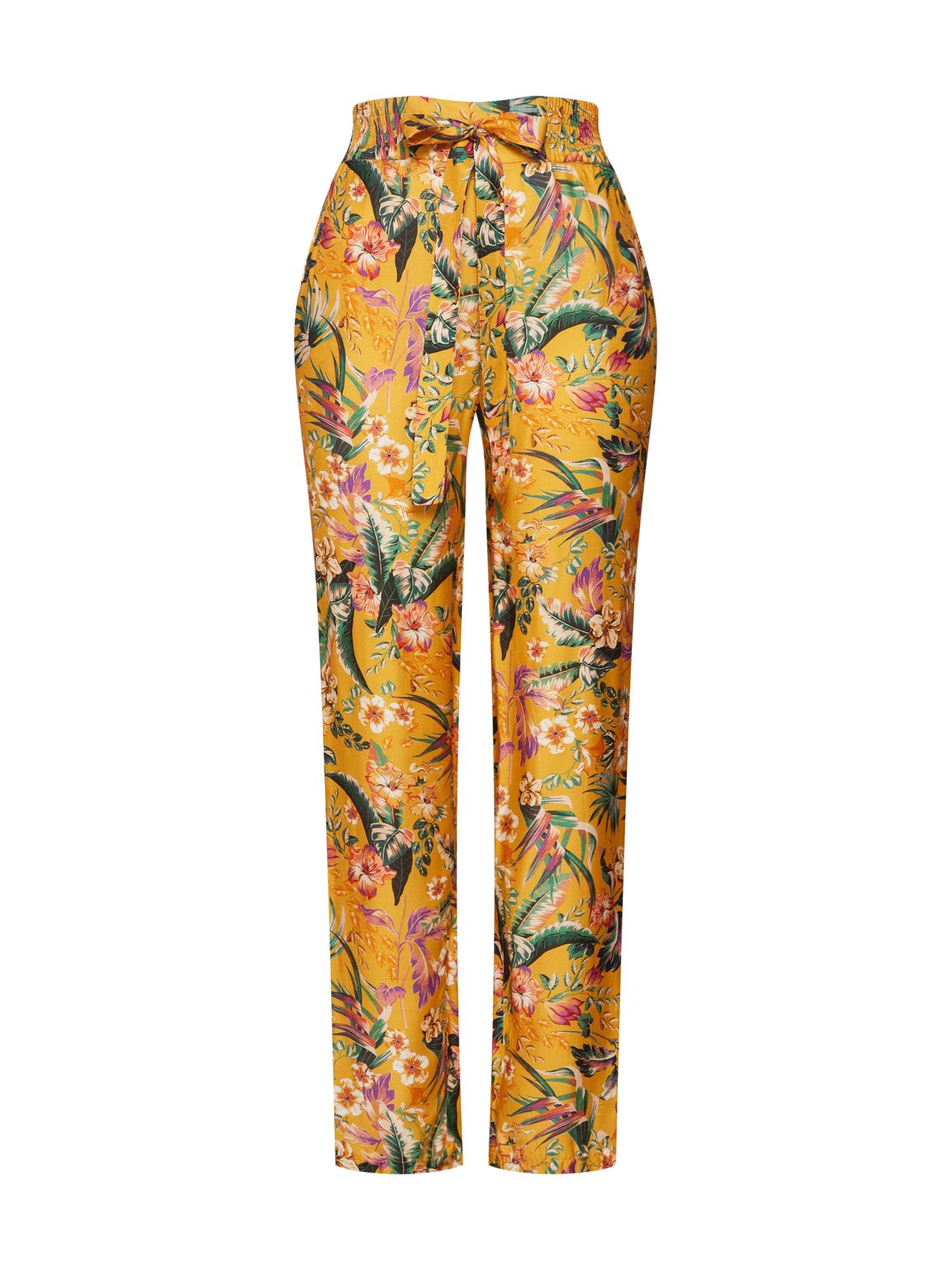 Kalhoty Hose žlutá SET