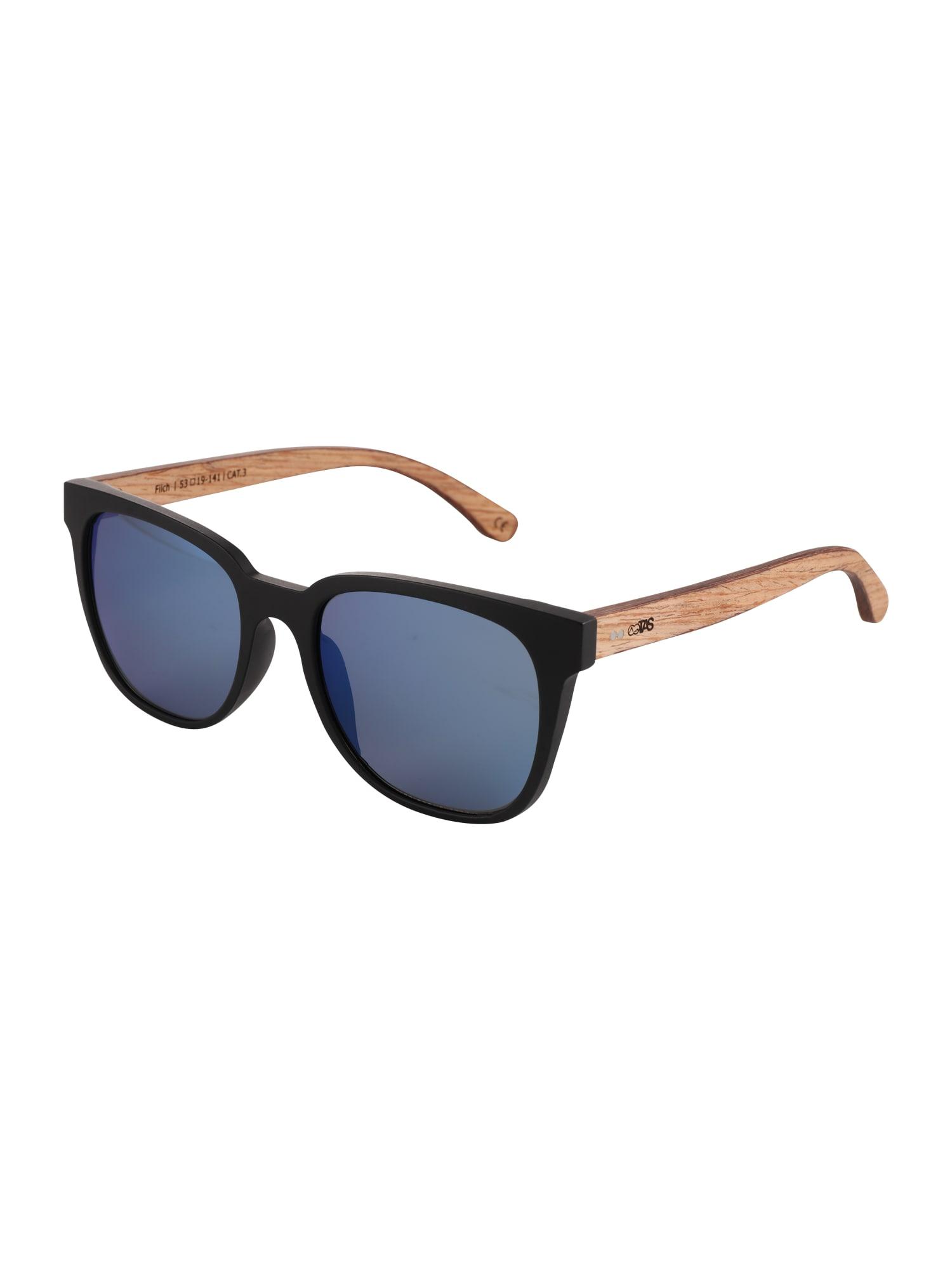 Sluneční brýle The Pennies Collection modrá hnědá černá TAKE A SHOT