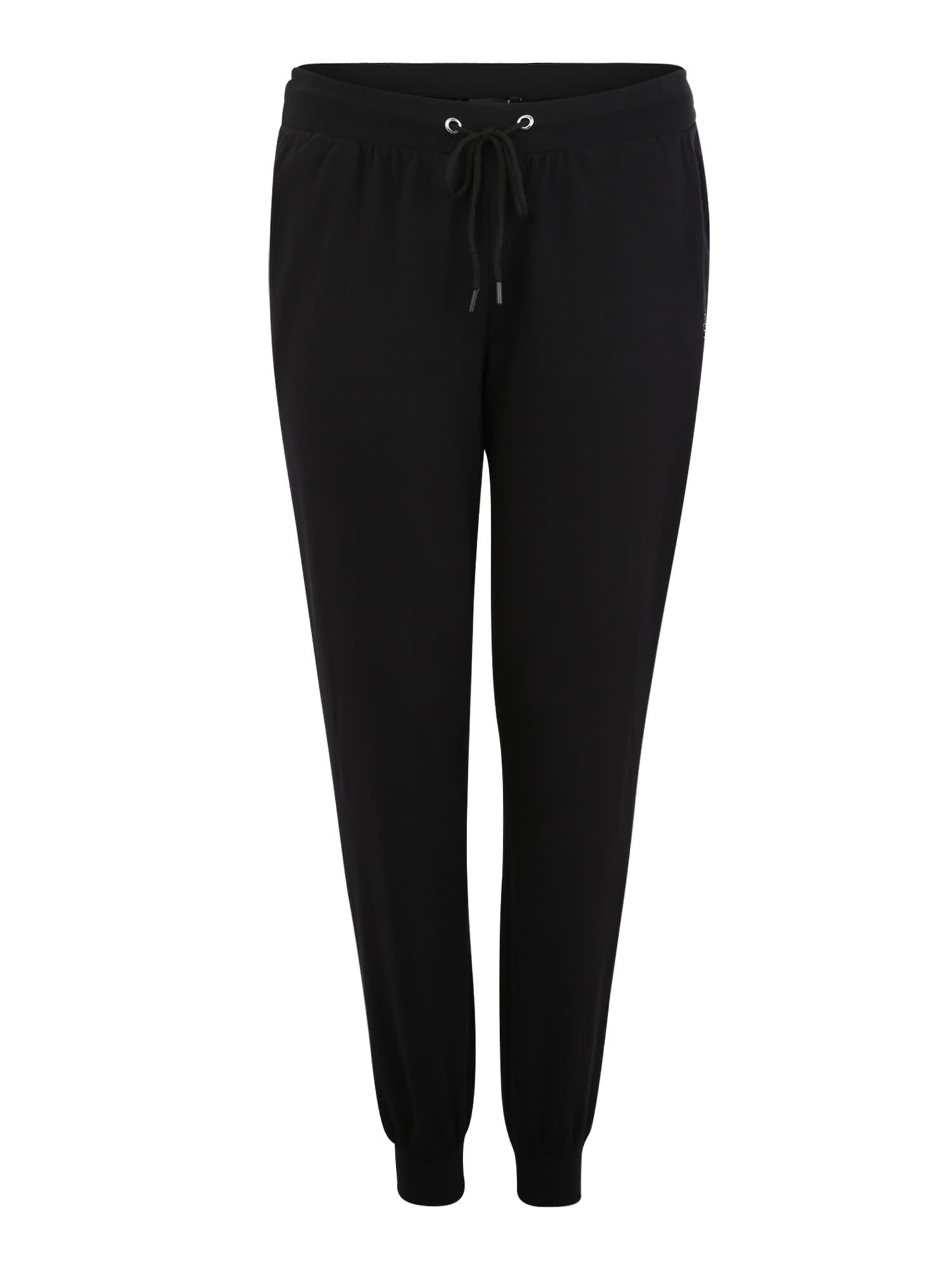 Sportovní kalhoty ABASIC LOOSE PANT černá Active By Zizzi