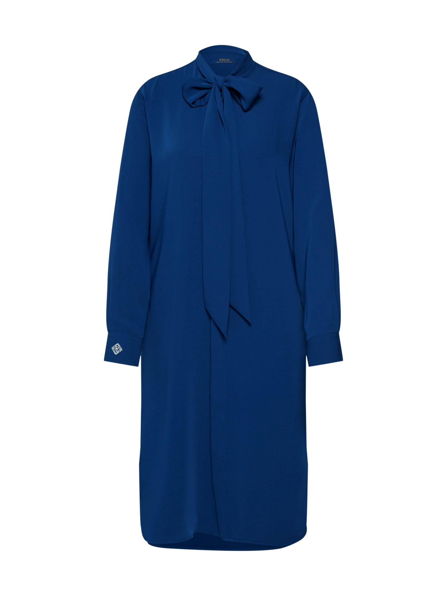 Košilové šaty LS IVY DR-LONG SLEEVE-CASUAL DRESS modrá POLO RALPH LAUREN