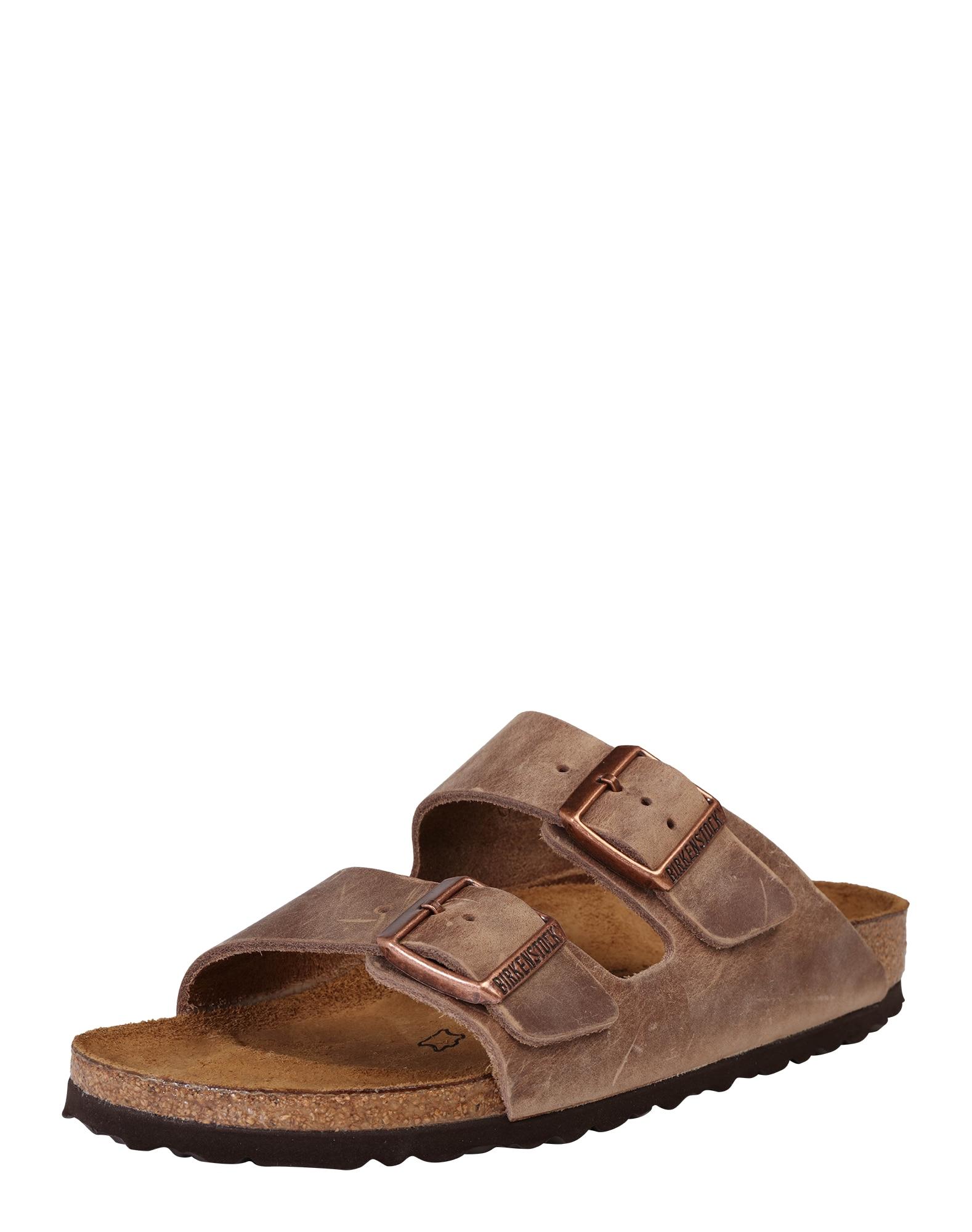 Pantofle Arizona hnědá BIRKENSTOCK