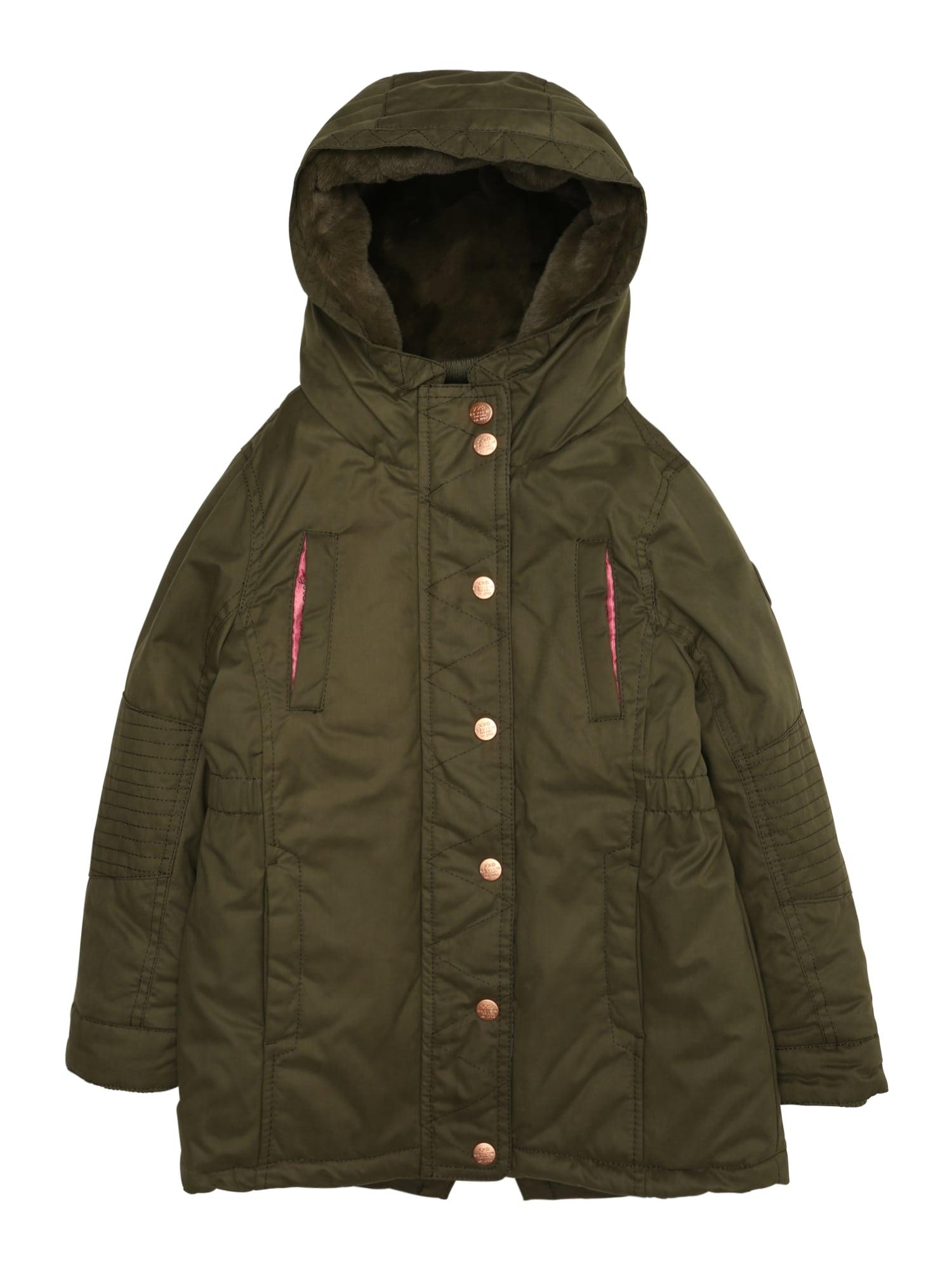 Zimní bunda KG-18-J901 khaki REVIEW FOR KIDS