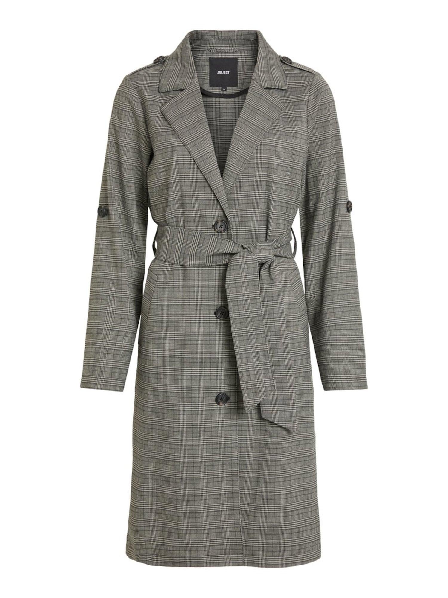 Přechodný kabát antracitová OBJECT