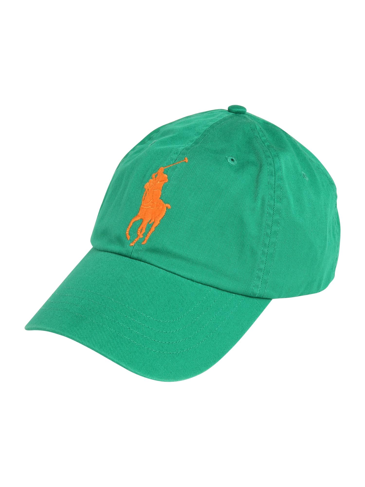 Kšiltovka CLS SPRT zelená oranžová POLO RALPH LAUREN