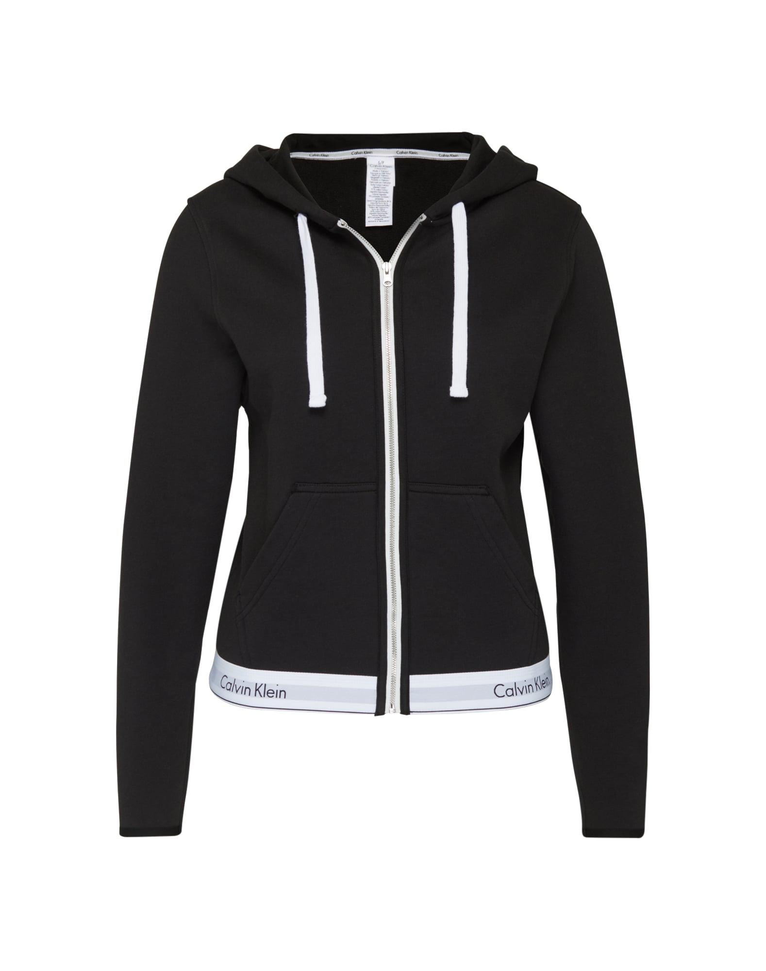 Mikina s kapucí černá Calvin Klein Underwear