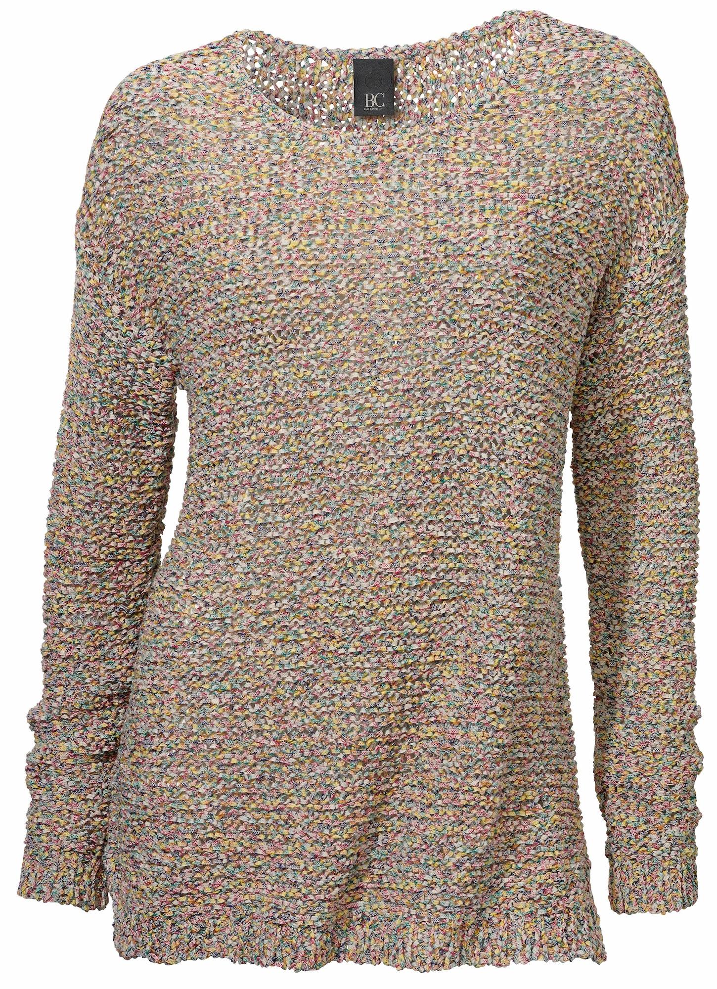 Rundhalspullover | Bekleidung > Pullover > Rundhalspullover | Mehrfarbig | heine