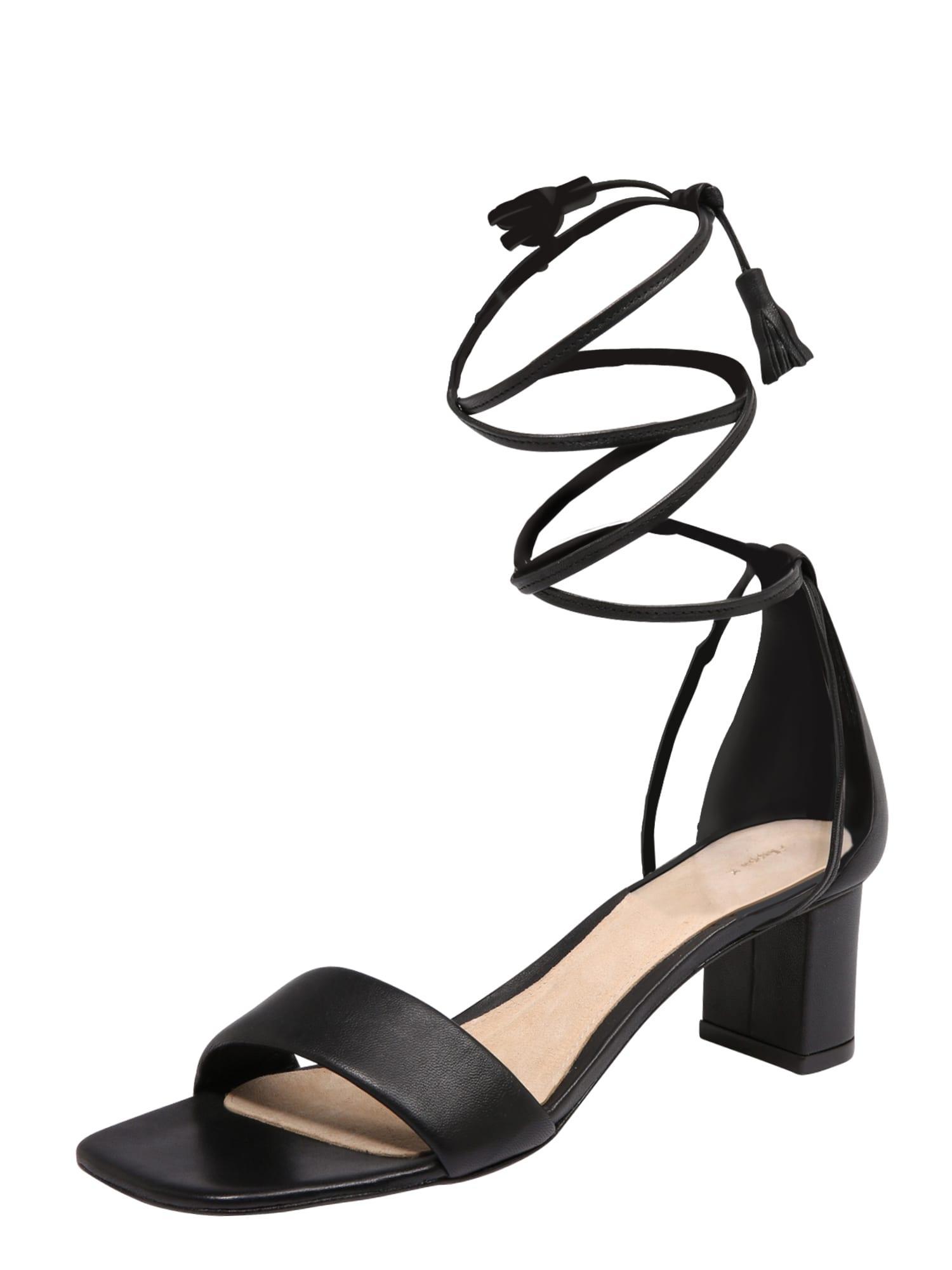 Sandály Lola černá Filippa K
