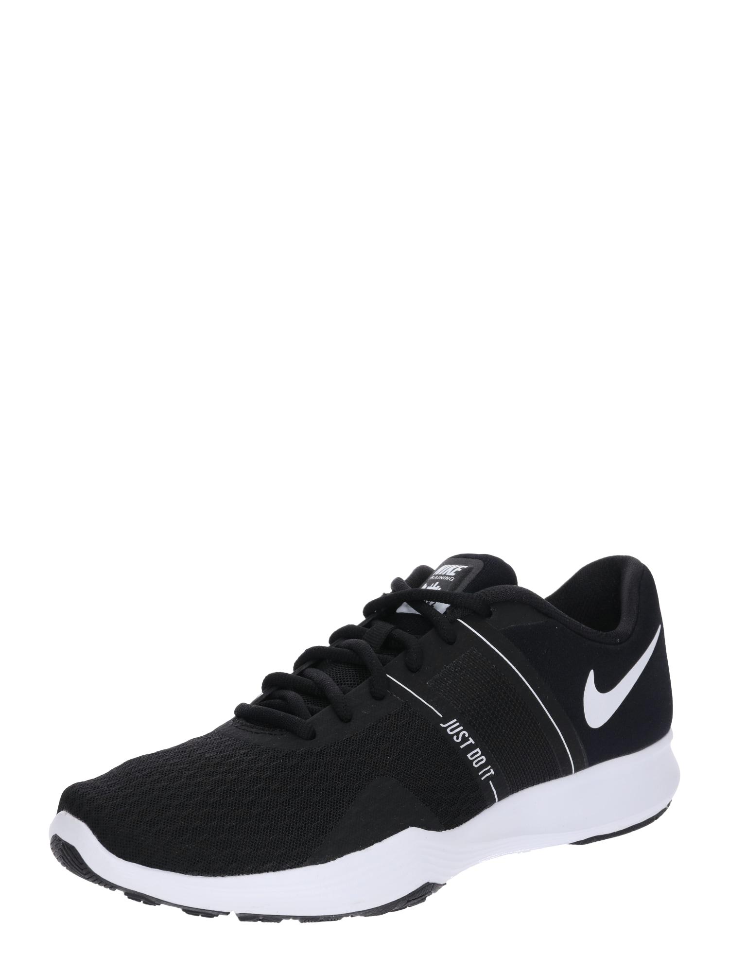 Sportovní boty City Trainer 2 černá bílá NIKE