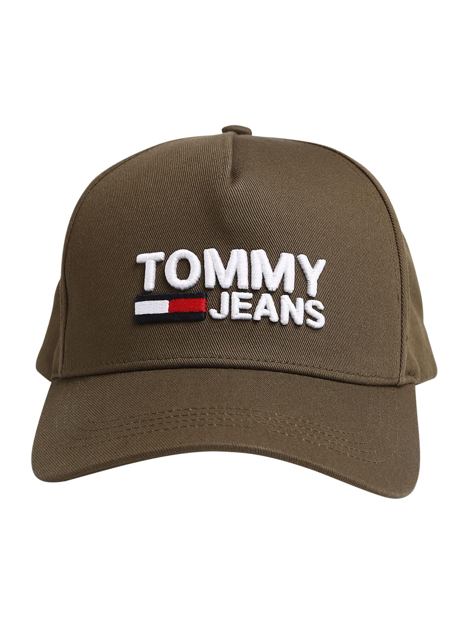 Kšiltovka khaki Tommy Jeans