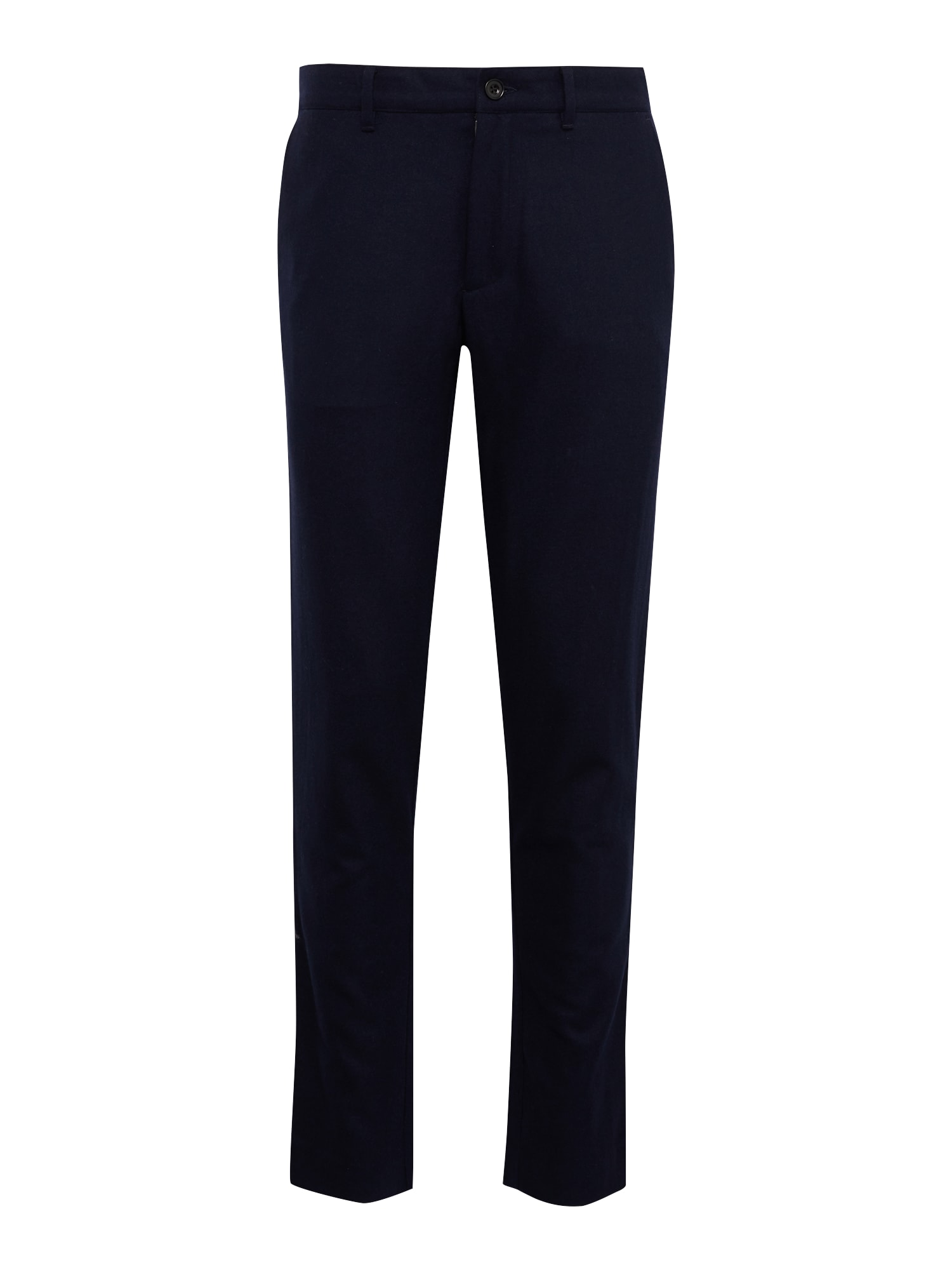 Kalhoty ELM WOOL námořnická modř FARAH