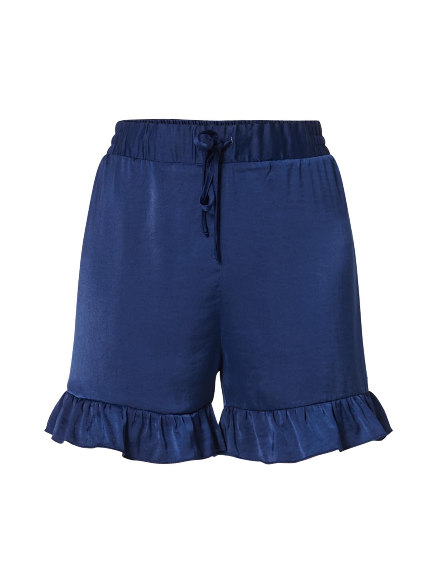 Kalhoty námořnická modř NA-KD