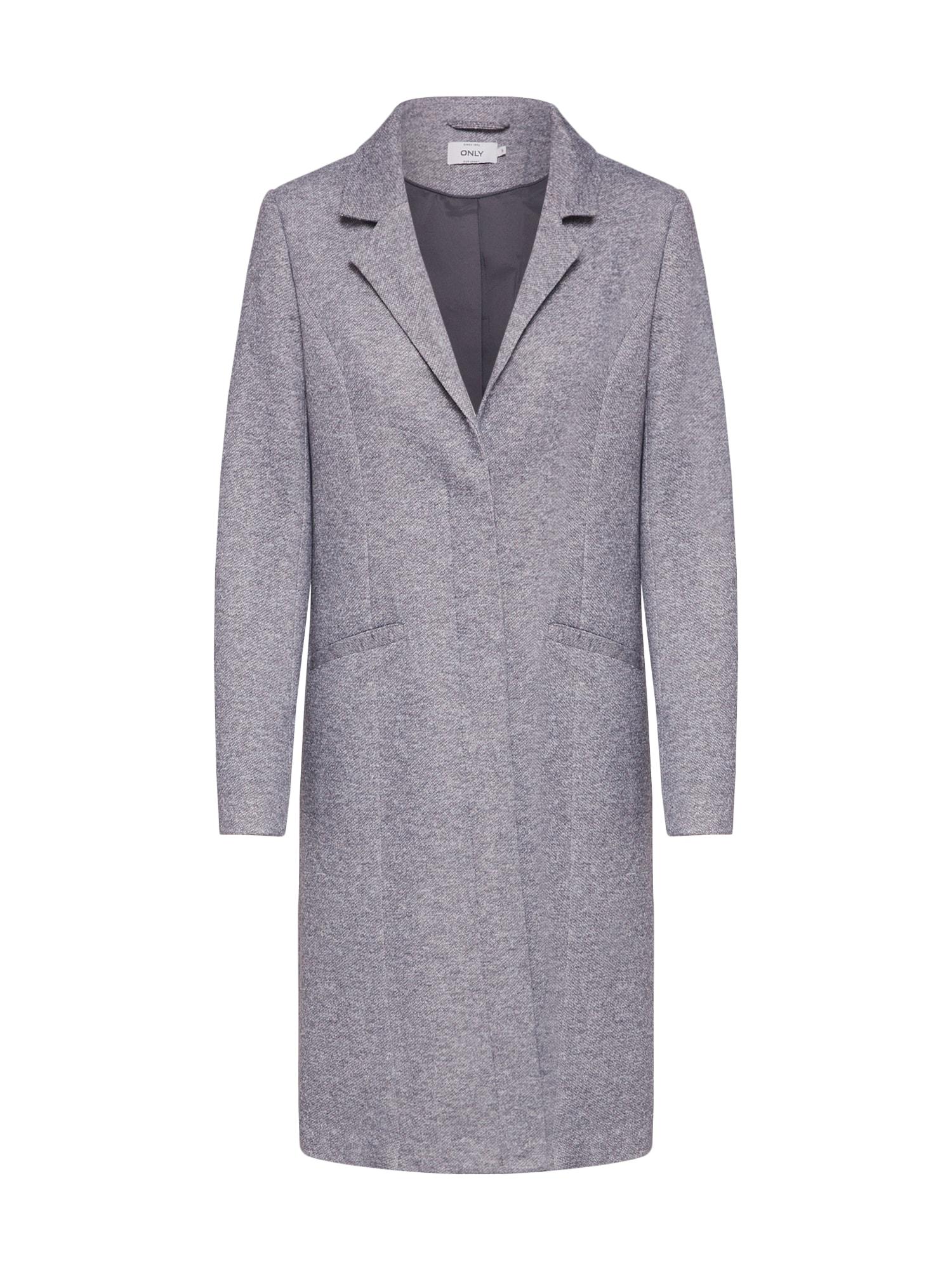 Přechodný kabát onlISA světle šedá ONLY