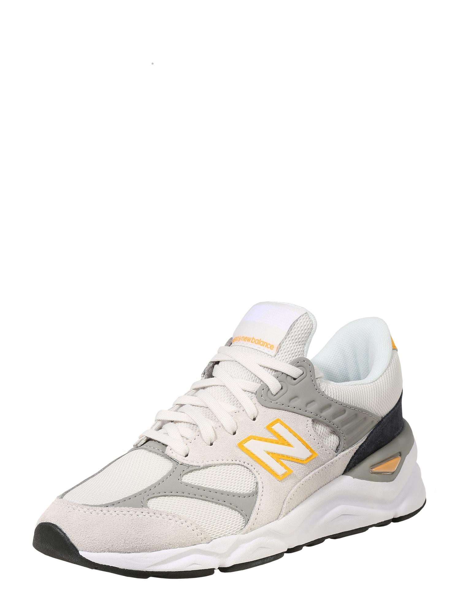 Tenisky X 90 žlutá světle šedá perlově bílá New Balance