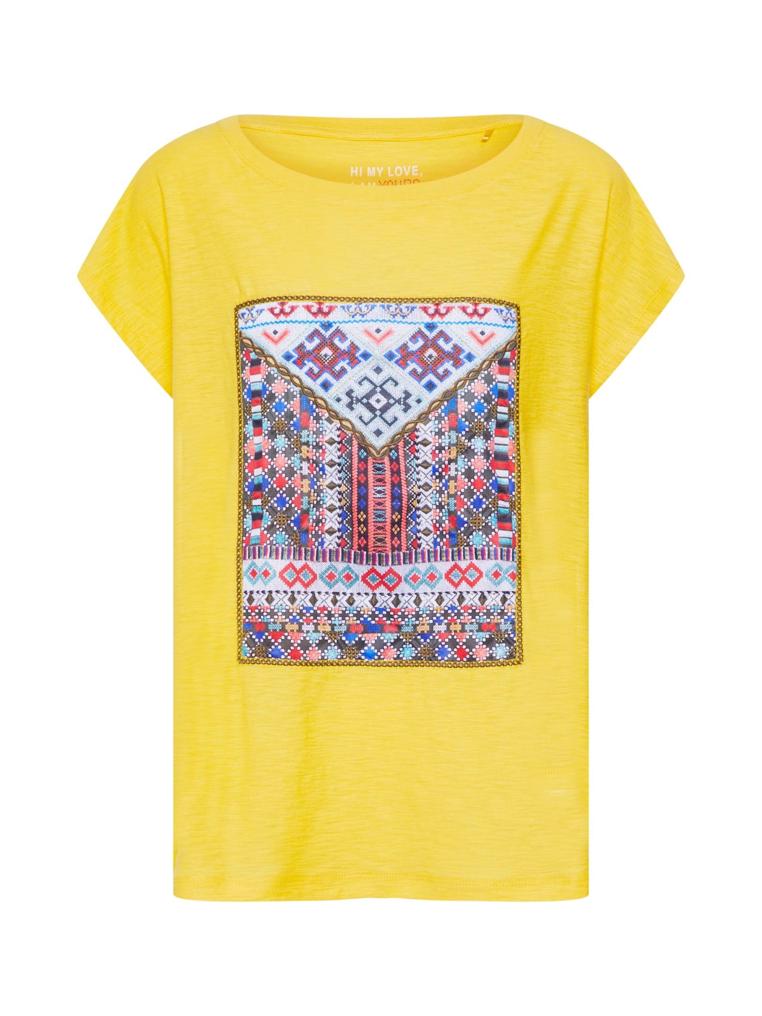 Tričko žlutá mix barev S.Oliver RED LABEL
