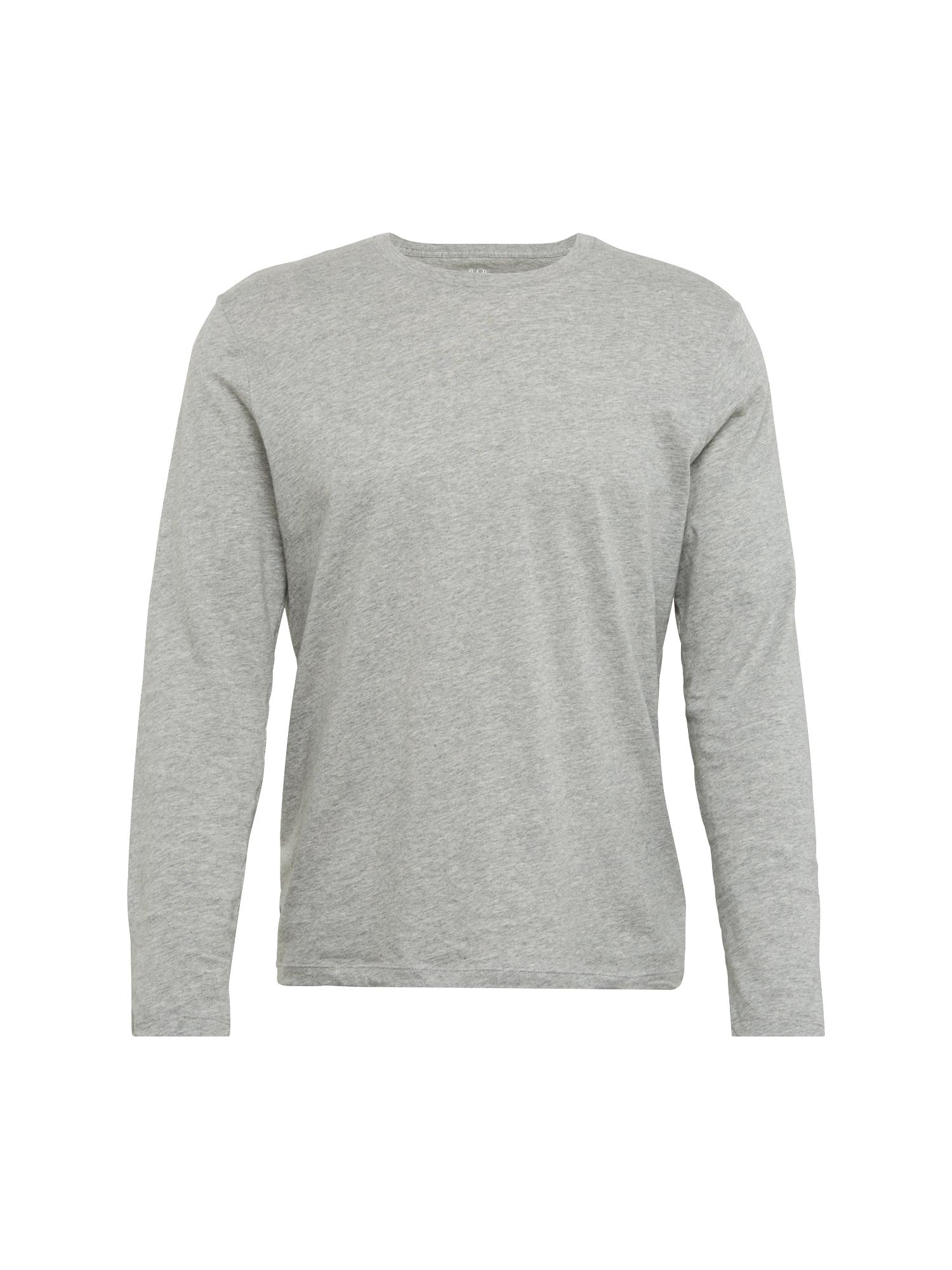 Tričko LS CREW TEE šedá GAP
