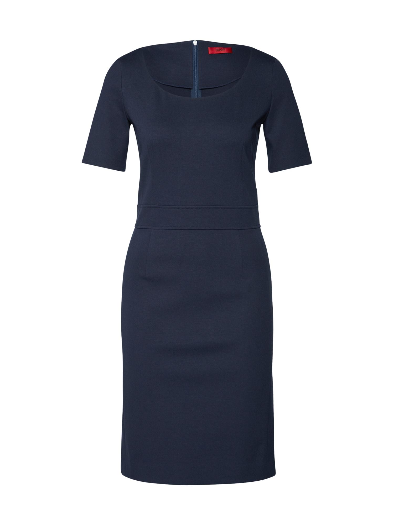 Pouzdrové šaty Katilla námořnická modř HUGO