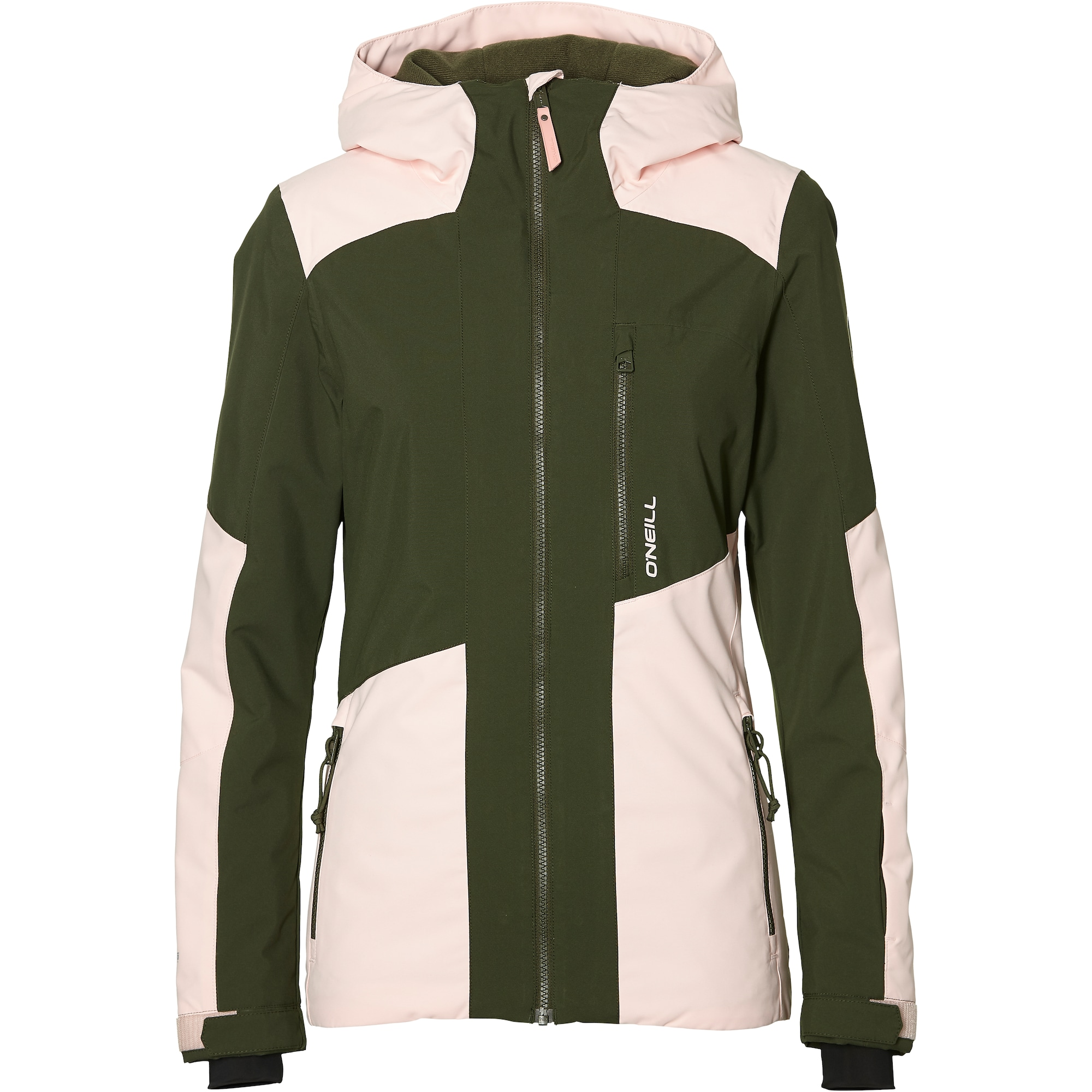 ONEILL Sportovní bunda Cascade olivová růžová O'NEILL