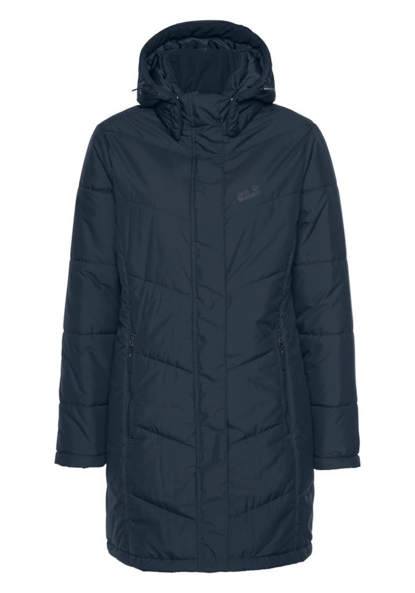 Outdoorový kabát SVALBARD černá JACK WOLFSKIN
