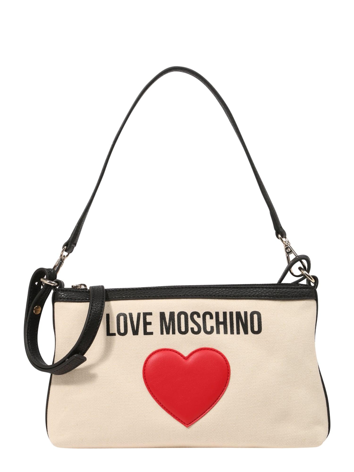 Taška přes rameno JC4335PP07 béžová Love Moschino