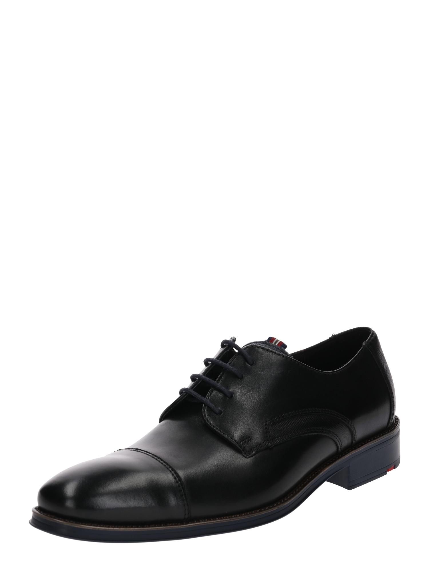 Šněrovací boty GRIFFIN černá LLOYD