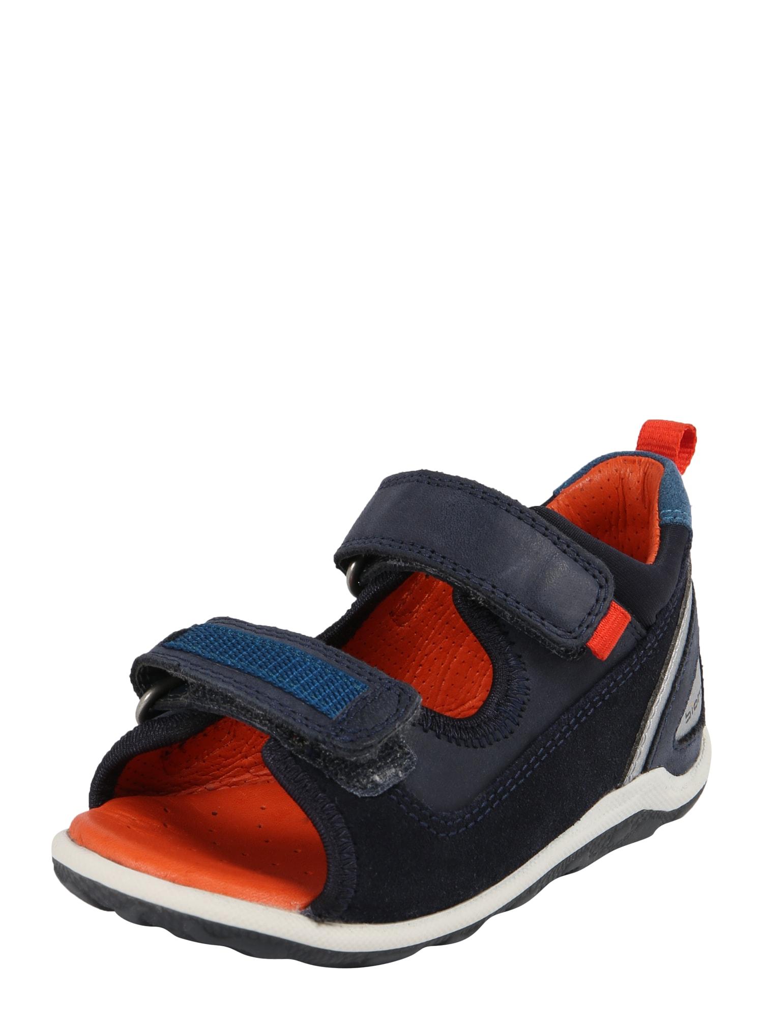 Sandály Biom Mini noční modrá bílá ECCO