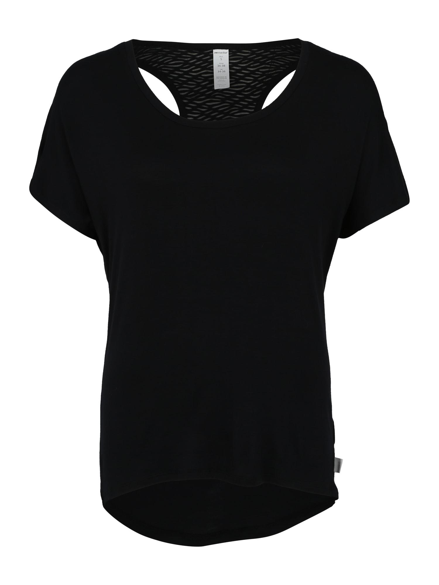 Funkční tričko BLAZE TEE černá Marika