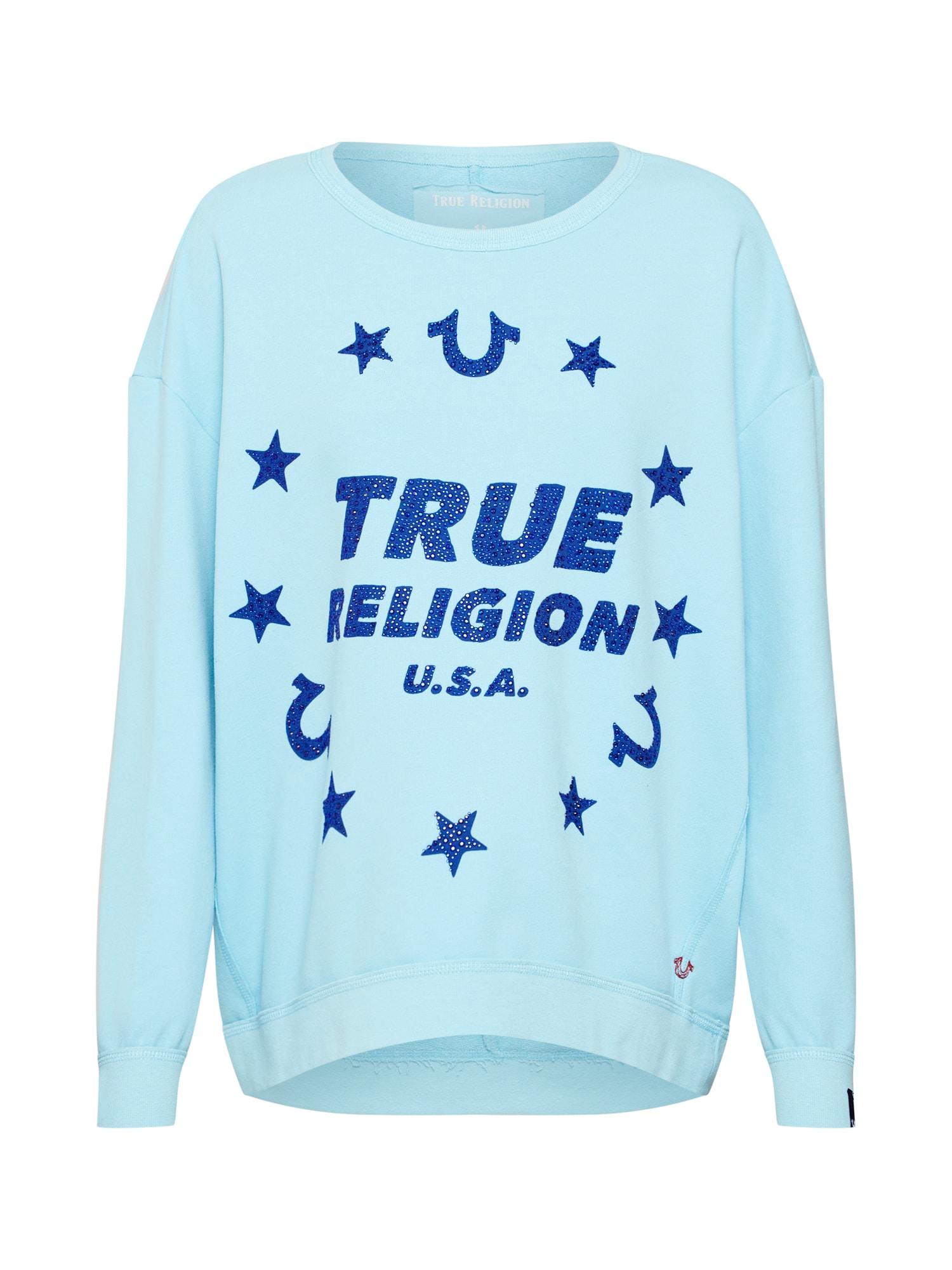Mikina Stars modrá True Religion