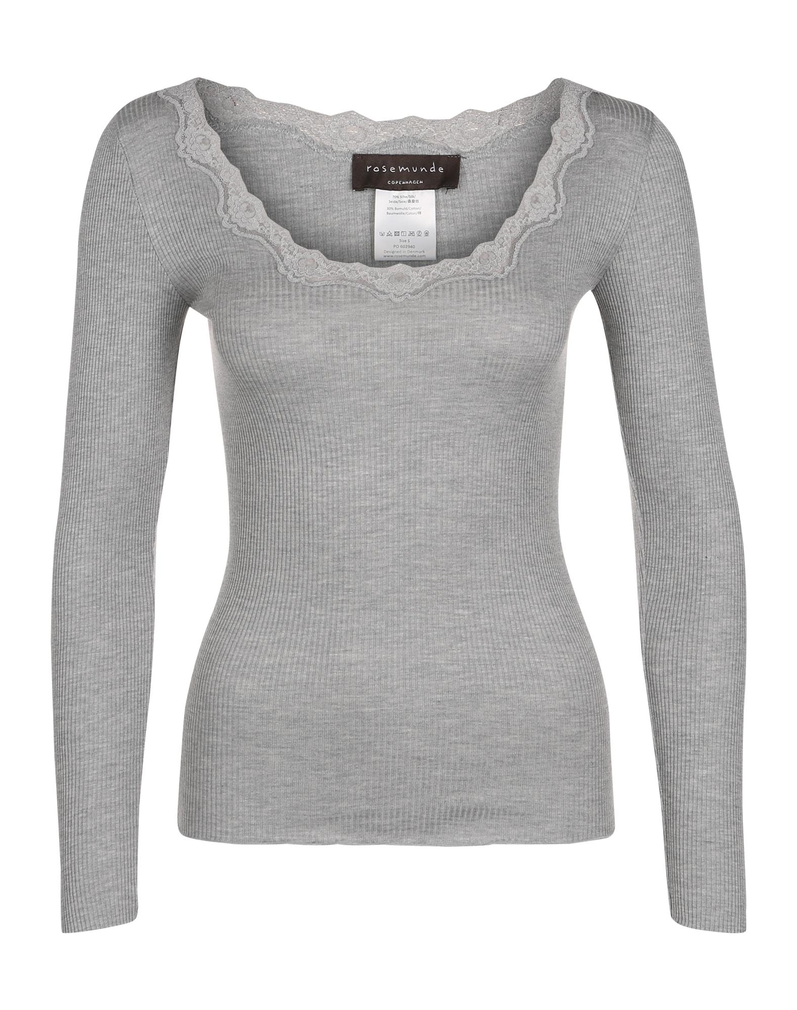 Tričko šedý melír Rosemunde