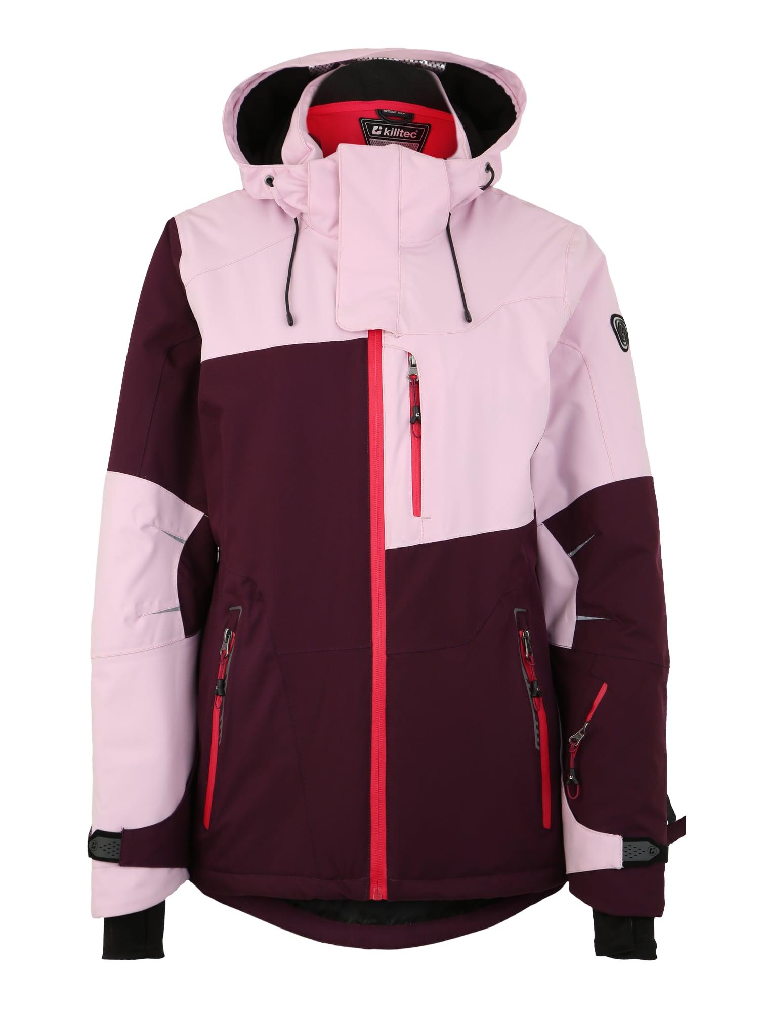 Sportovní bunda Luira švestková růžová KILLTEC