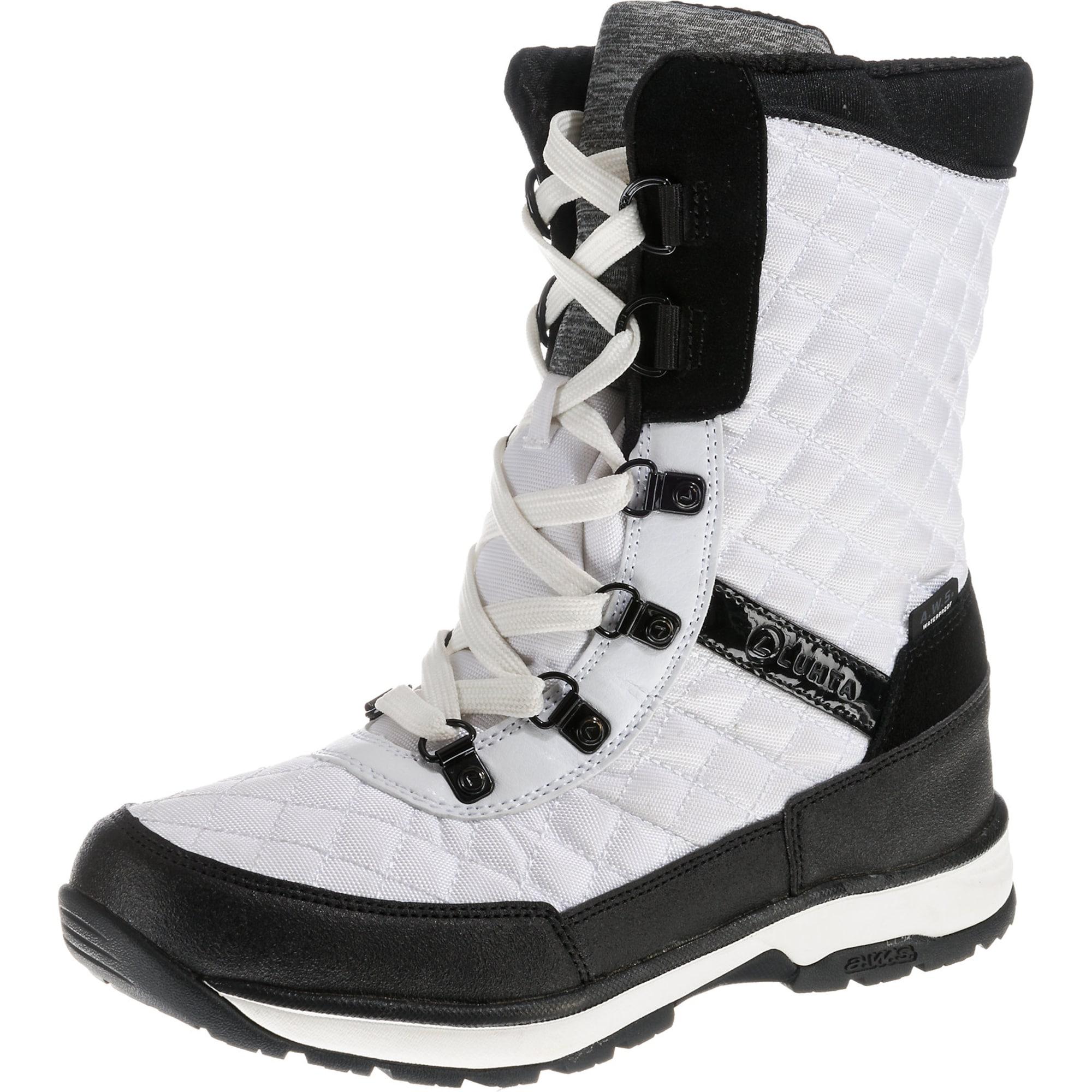 Winterstiefel 'Linda' | Schuhe > Stiefel > Winterstiefel | Schwarz - Weiß | LUHTA