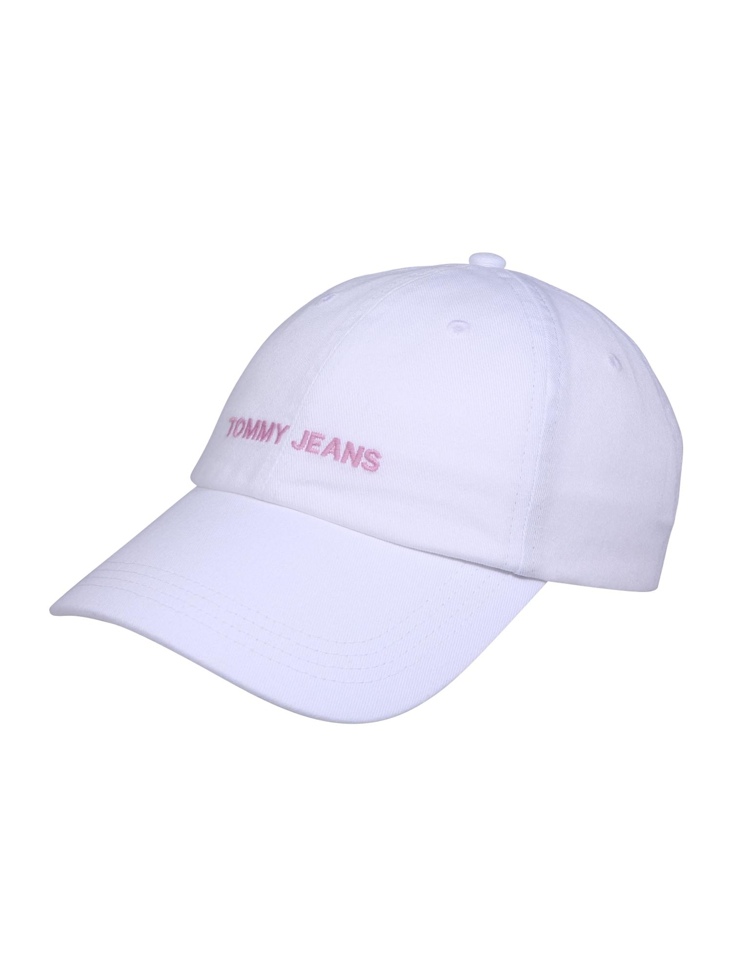 Čepice Sport růžová bílá Tommy Jeans