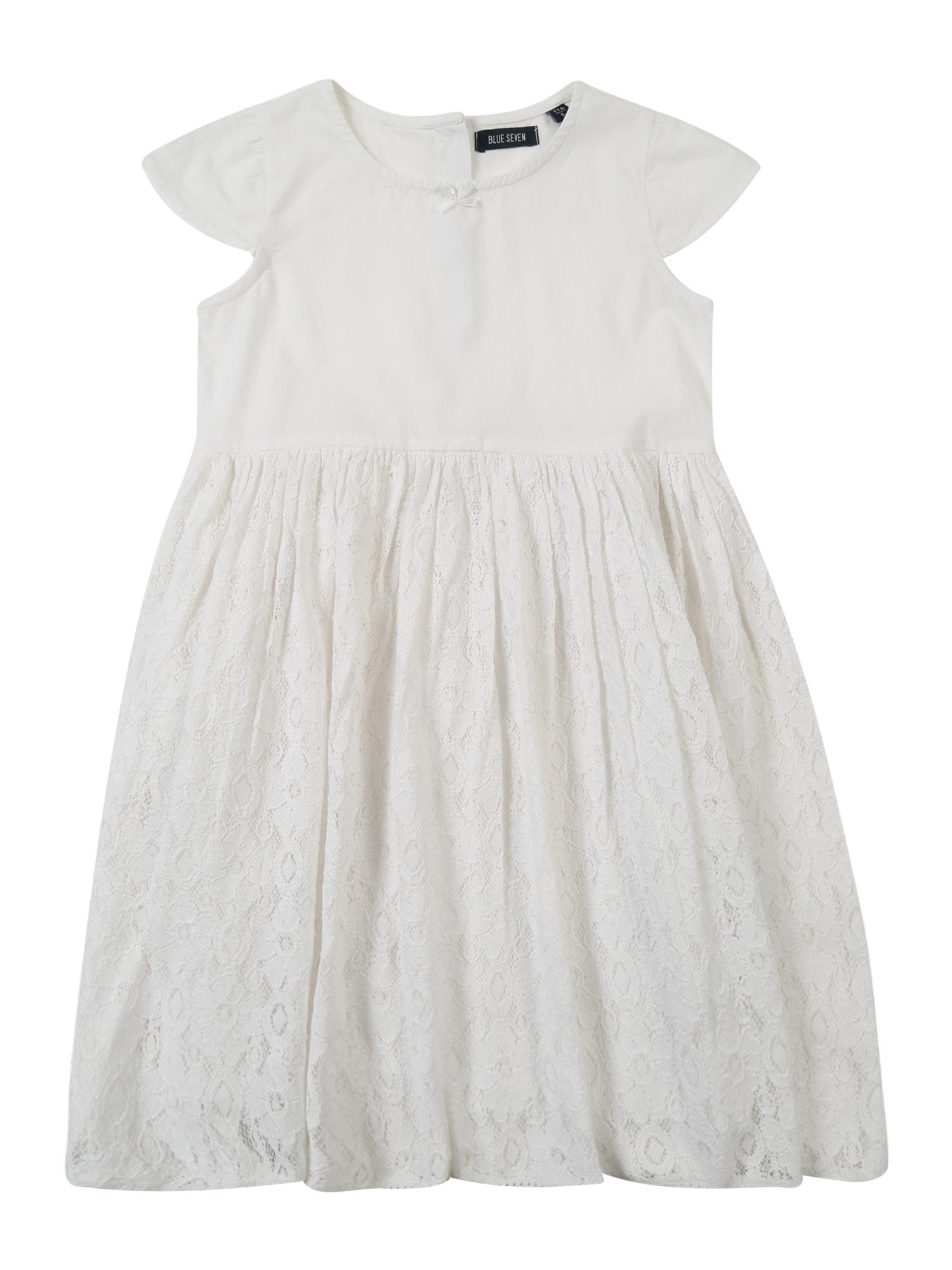 Šaty bílá BLUE SEVEN