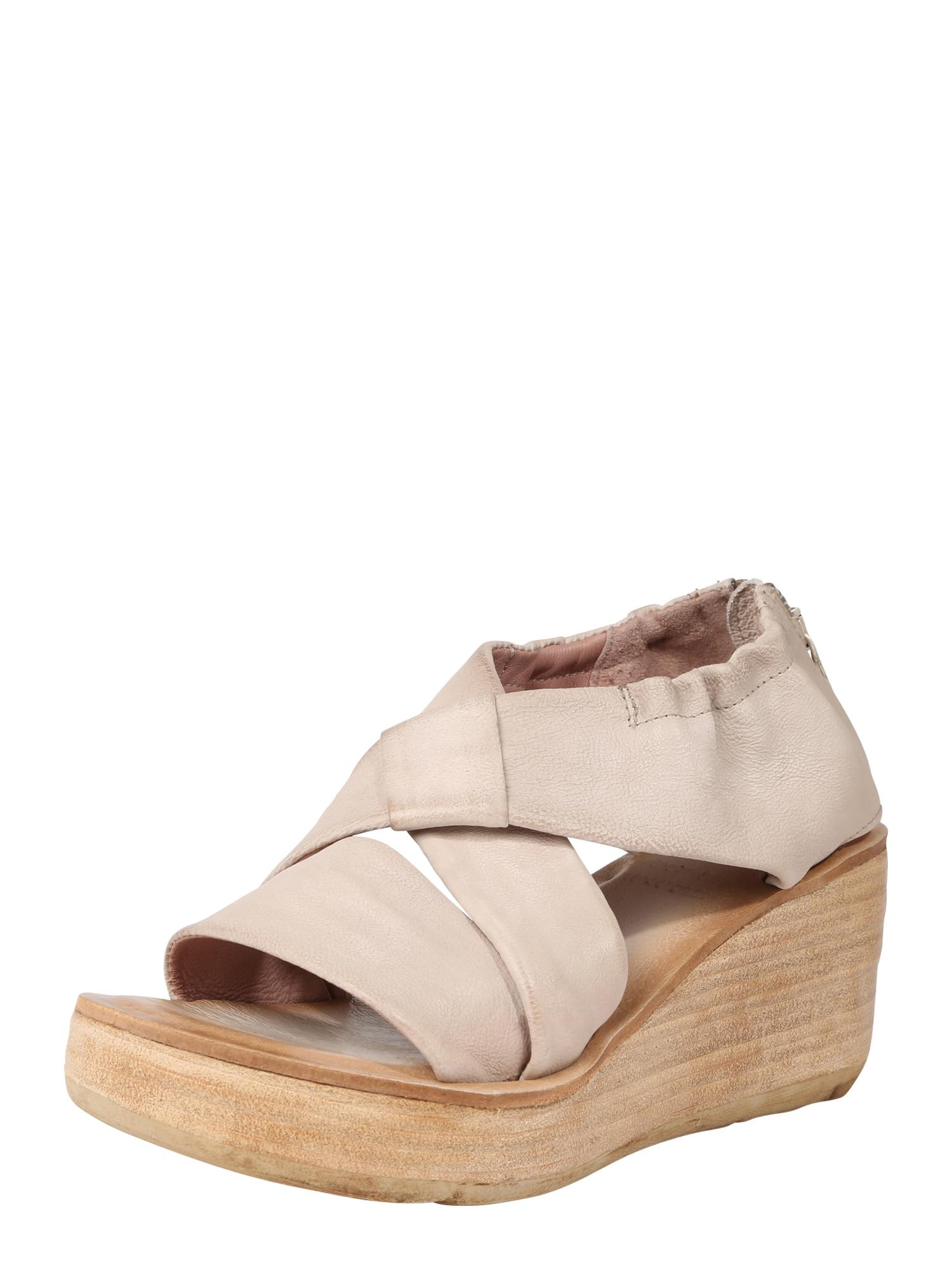 Páskové sandály Sandale NOA béžová A.S.98