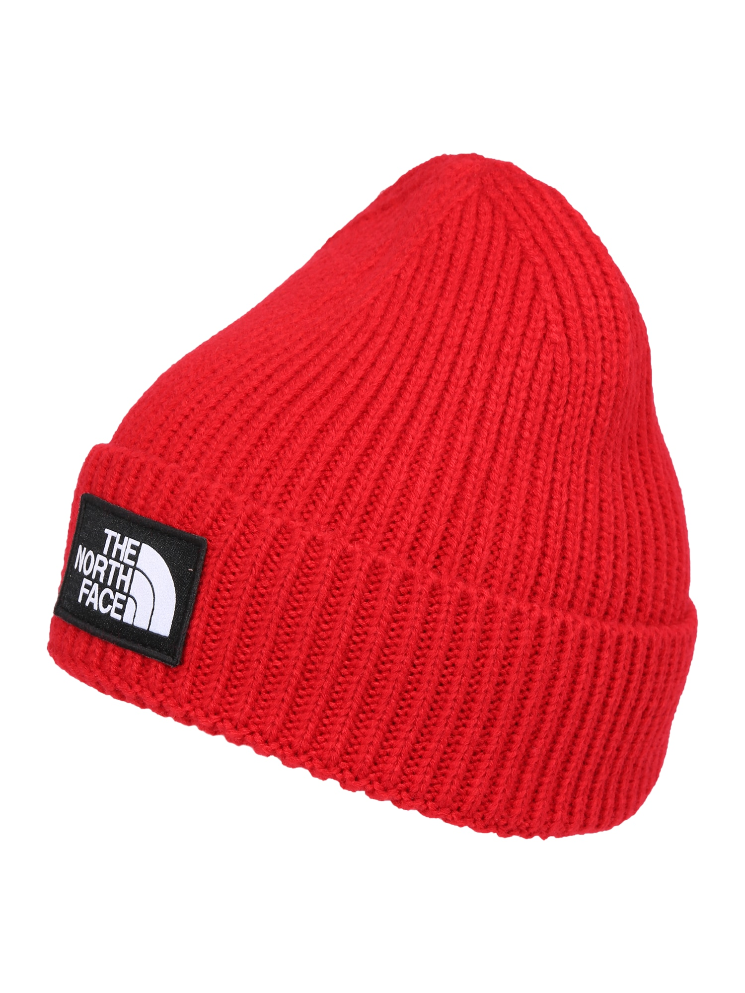 THE NORTH FACE, Heren Muts 'Logo Box Cuffed', rood