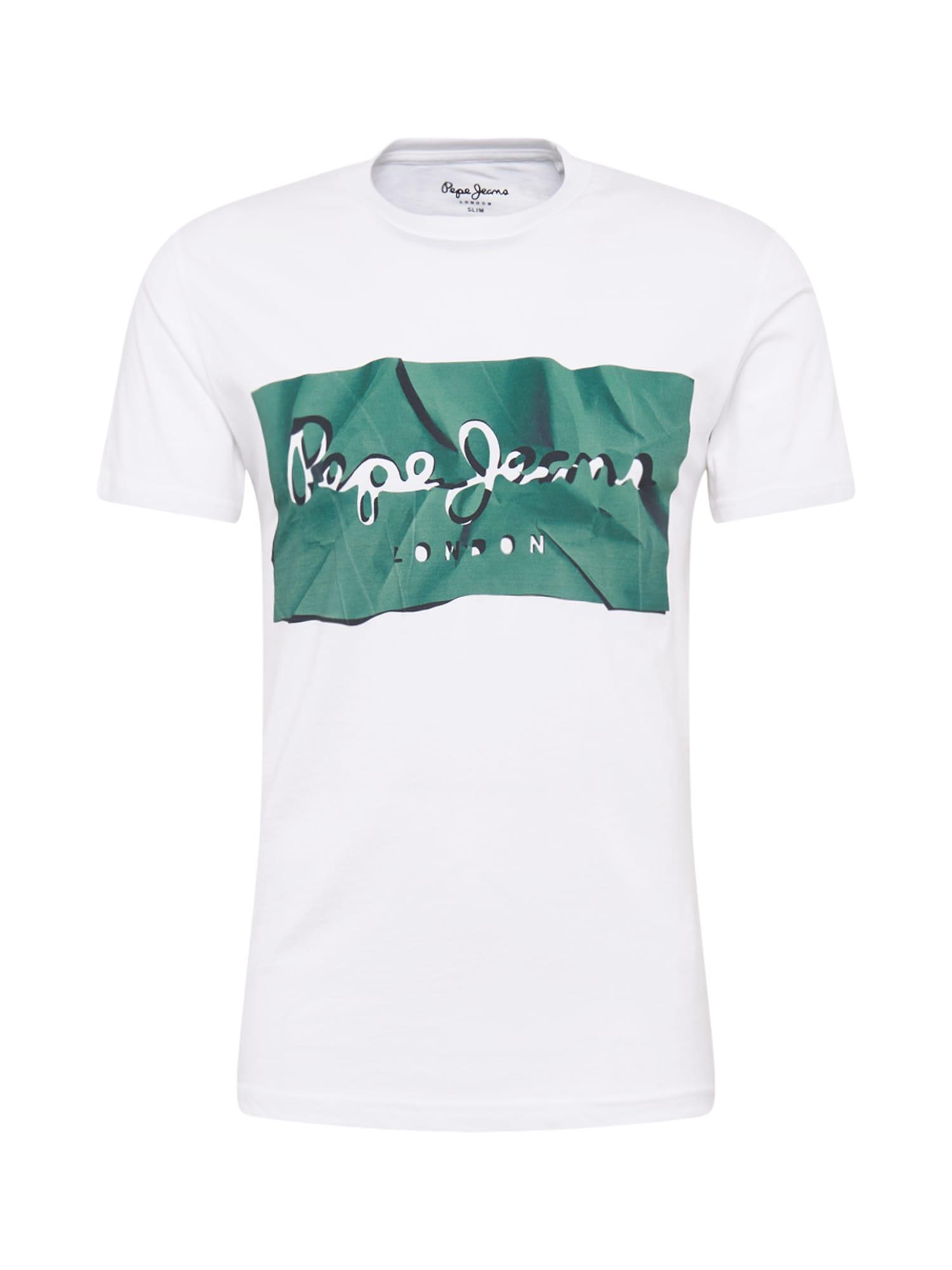 Pepe Jeans Tričko 'RAURY'  jedľová