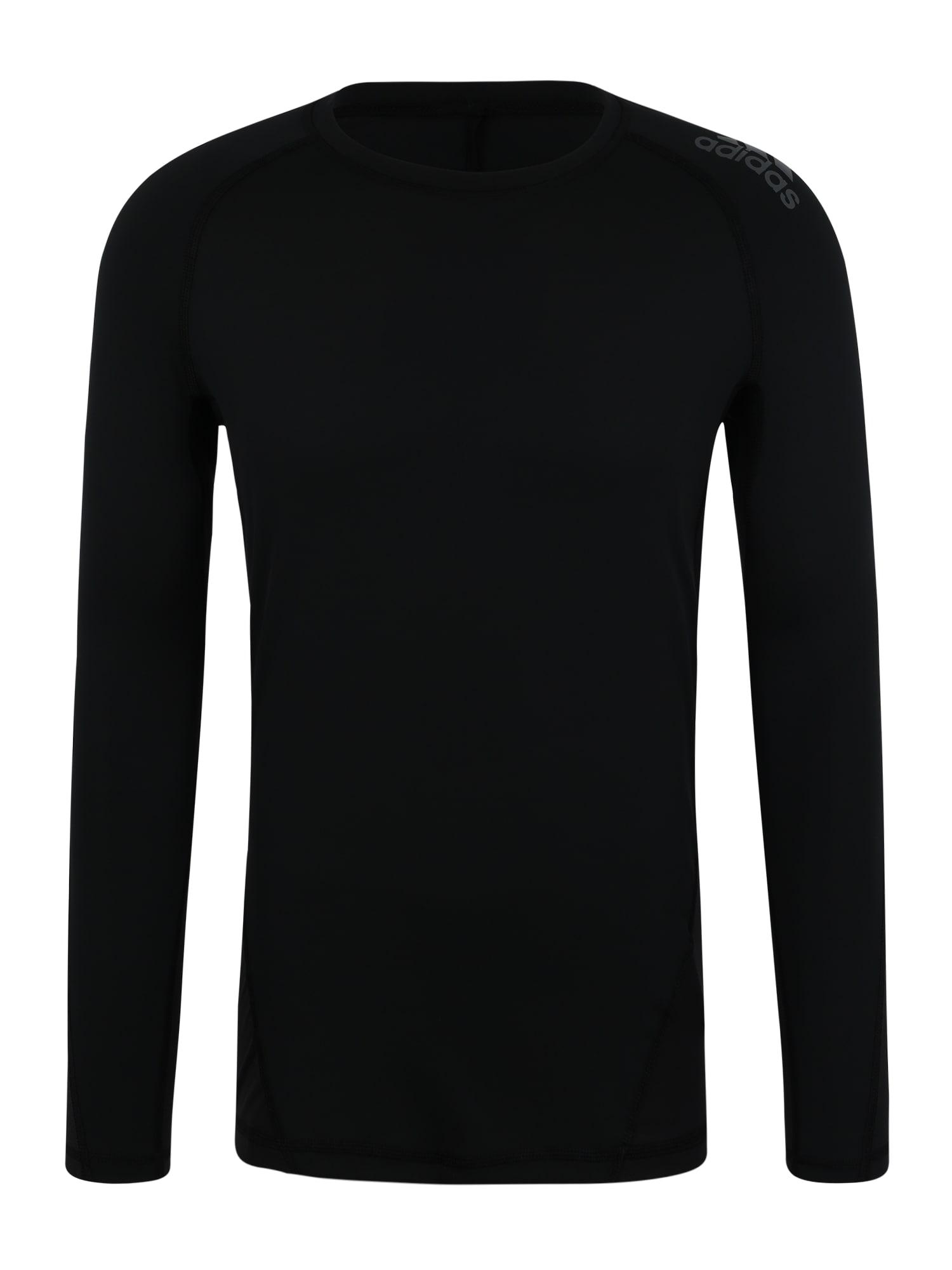 Funkční tričko ASK SPR černá ADIDAS PERFORMANCE